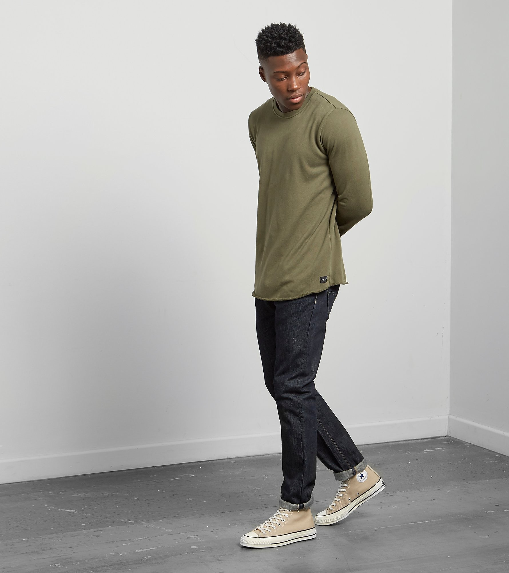 Edwin Long Sleeved Terry T-Shirt