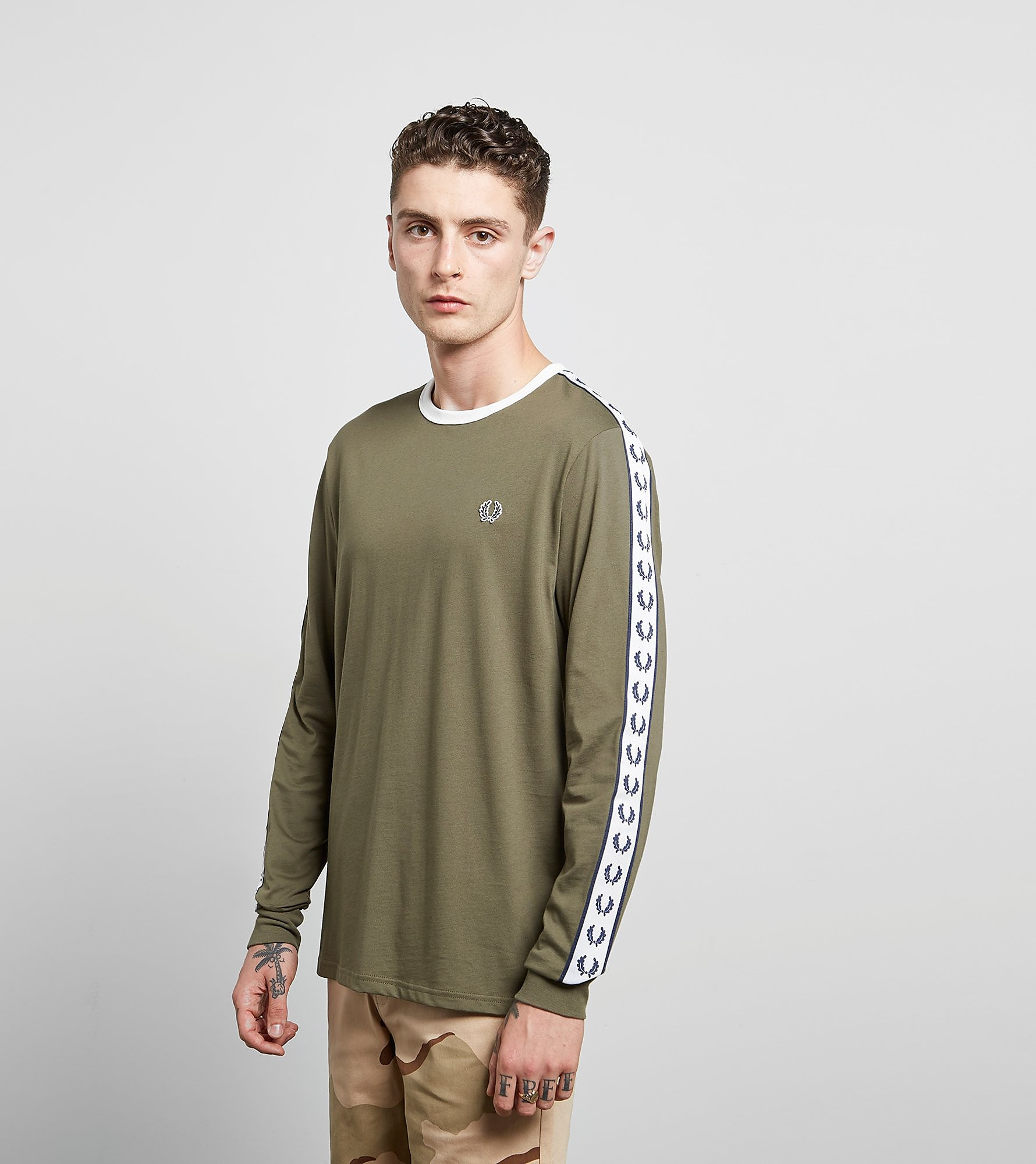 Fred Perry Long Sleeved Ringer T-Shirt - size? Exclusive
