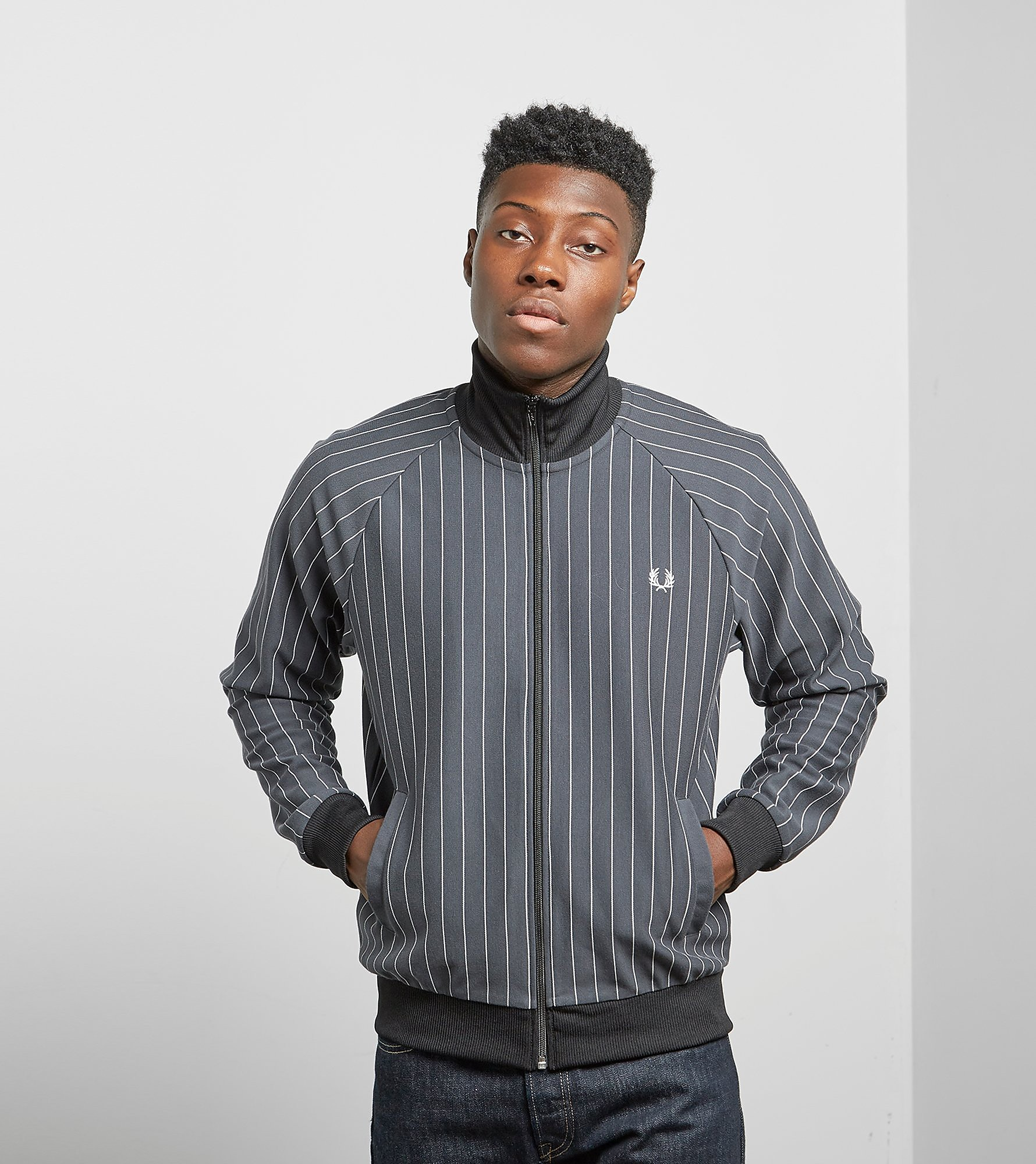 Fred Perry Pinstripe Track Top