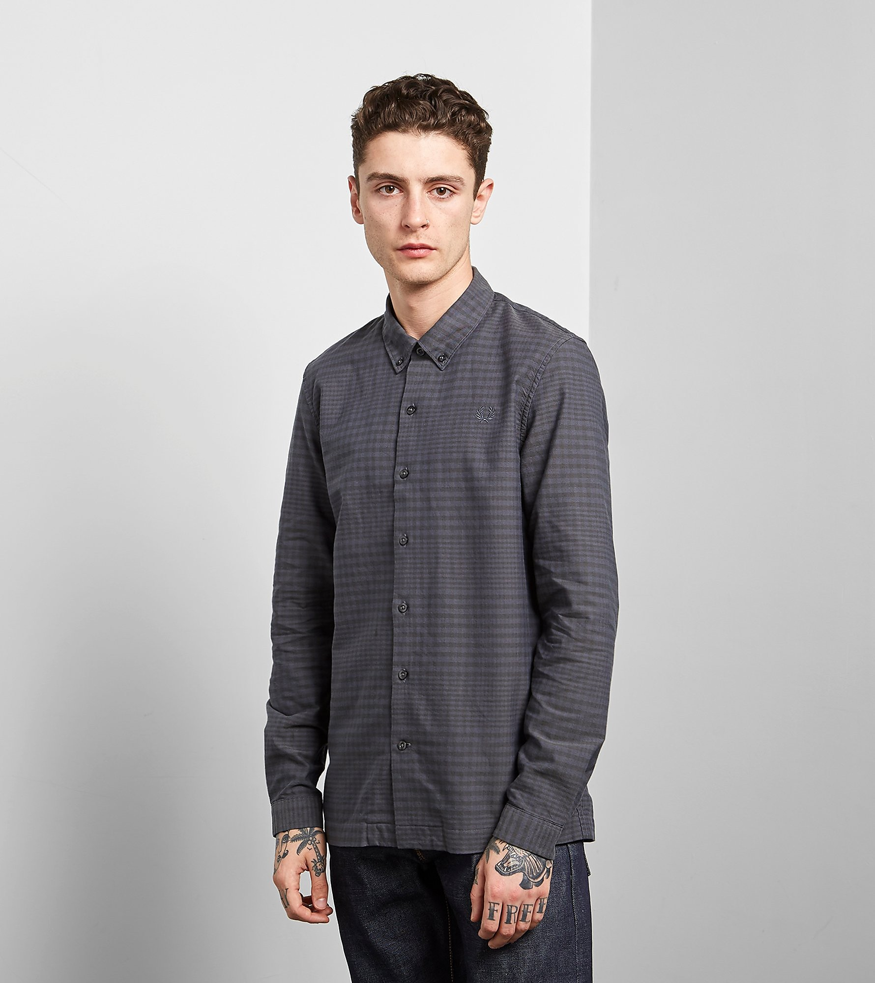 Fred Perry Gingham Flannel Shirt