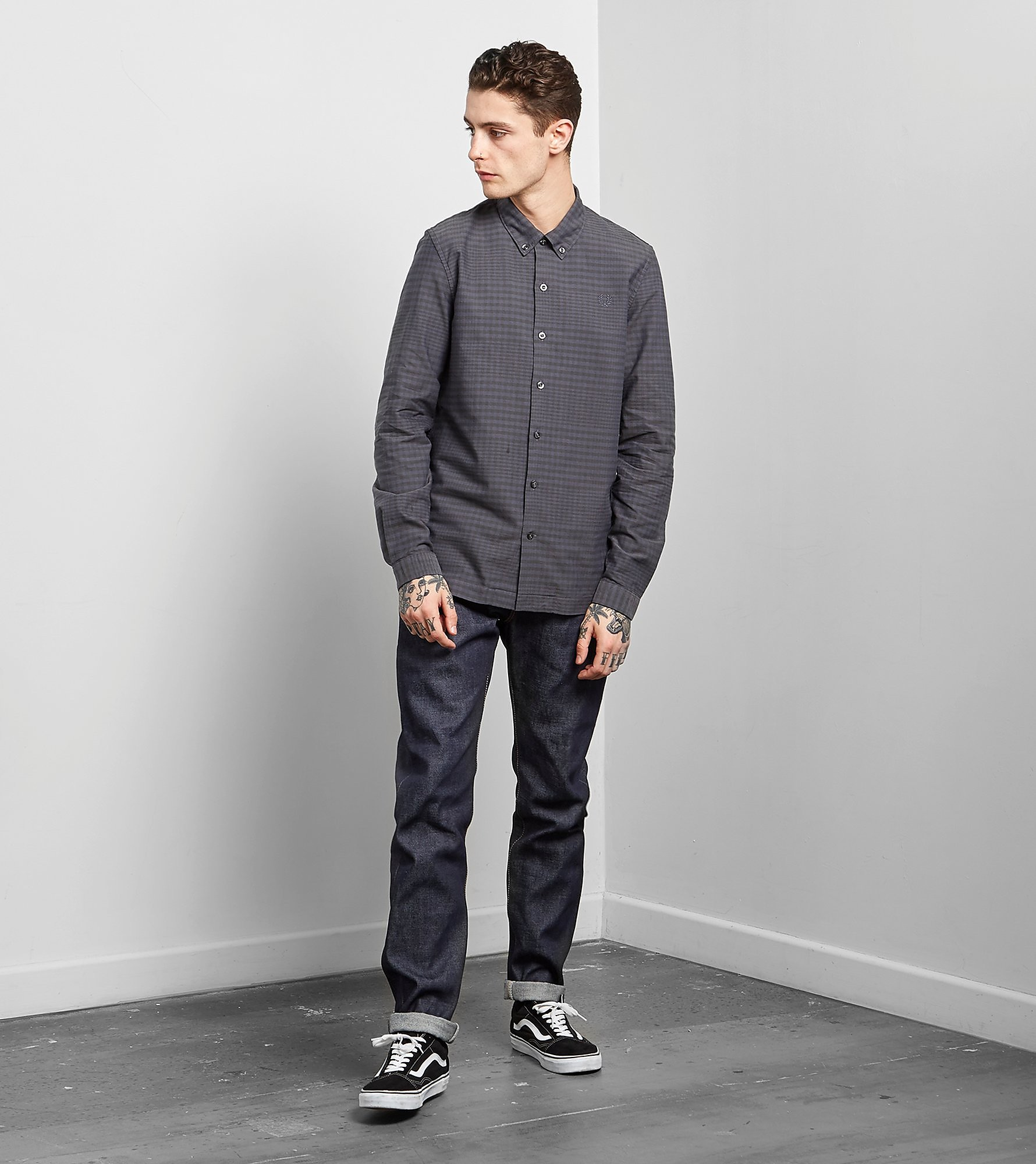 Fred Perry Gingham Flannel Overhemd