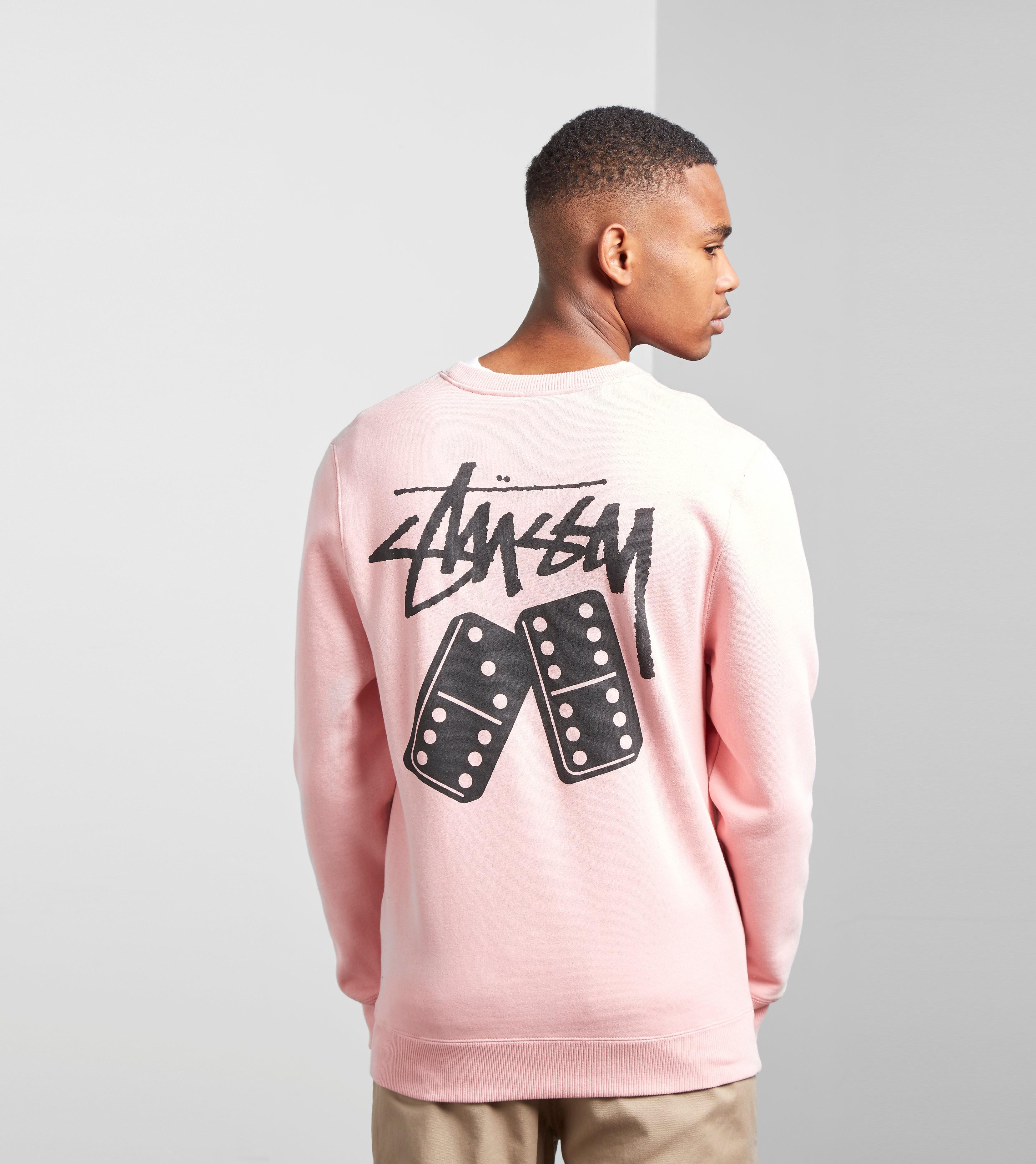 Stussy Dominos Crew Sweatshirt