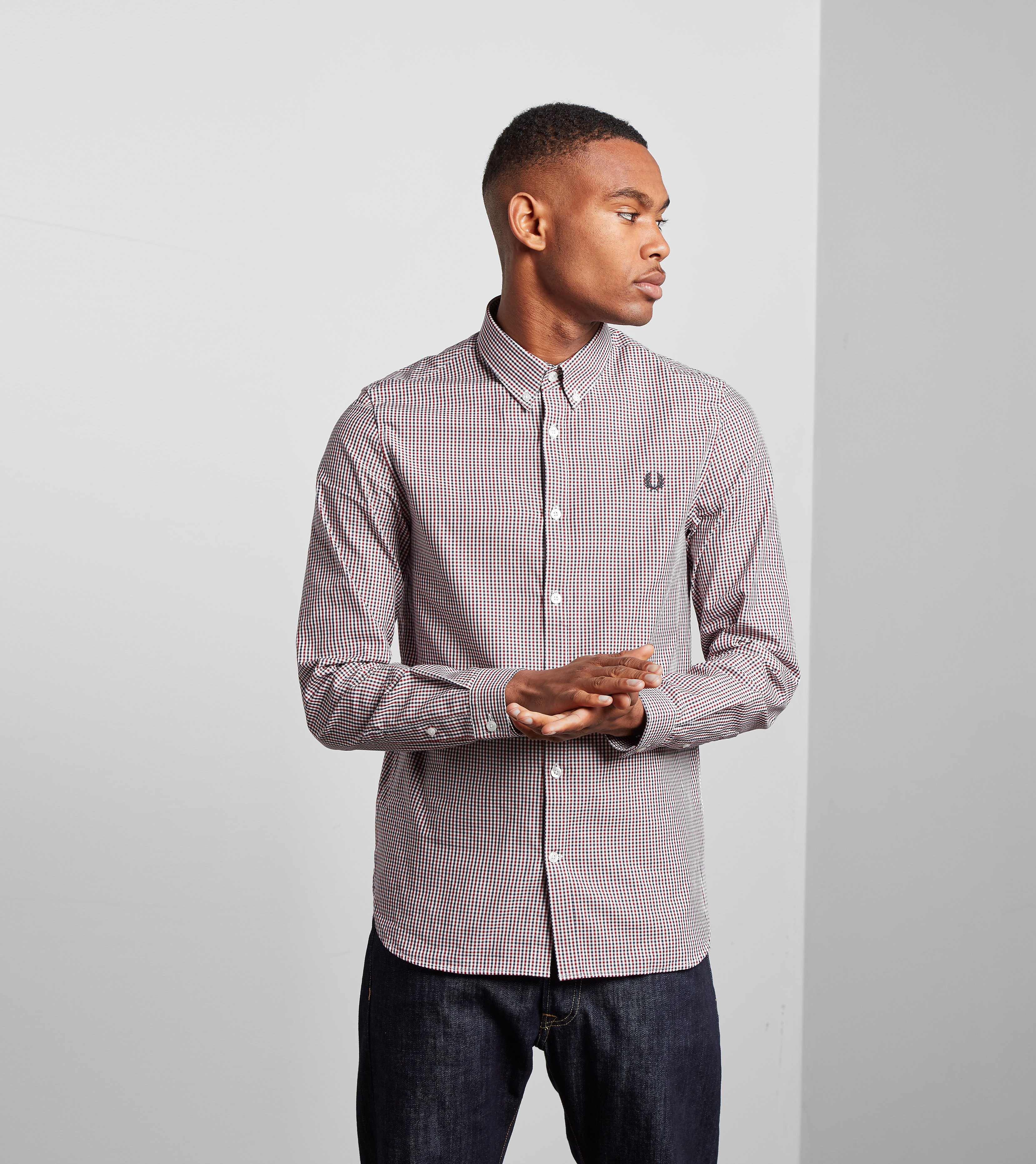 Fred Perry Basketweave Shirt