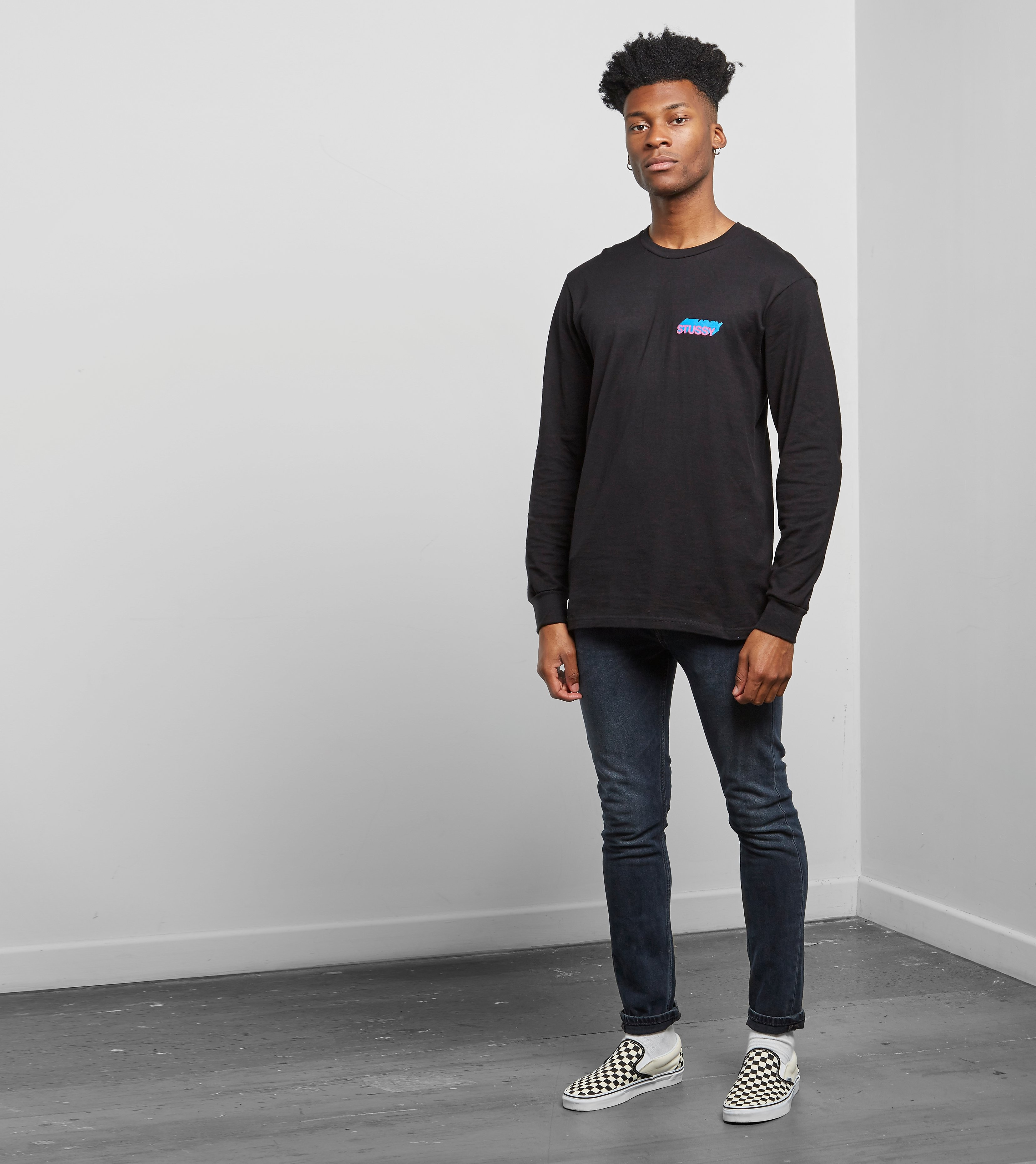 Stussy Hold A Medz Long Sleeve T-Shirt