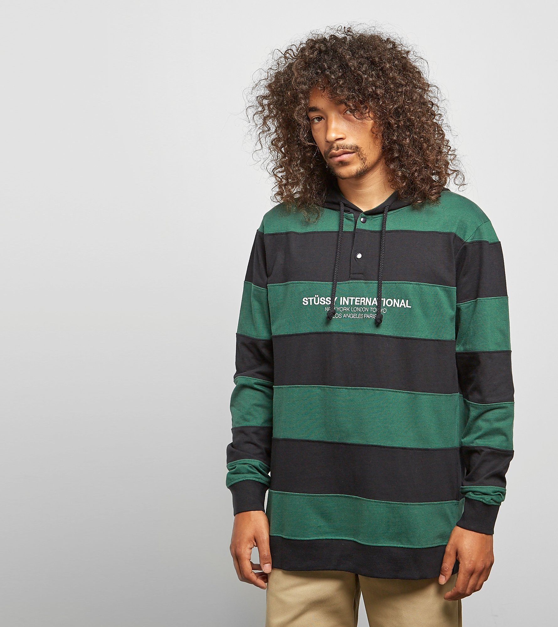 Stussy Hooded Stripe Rugby