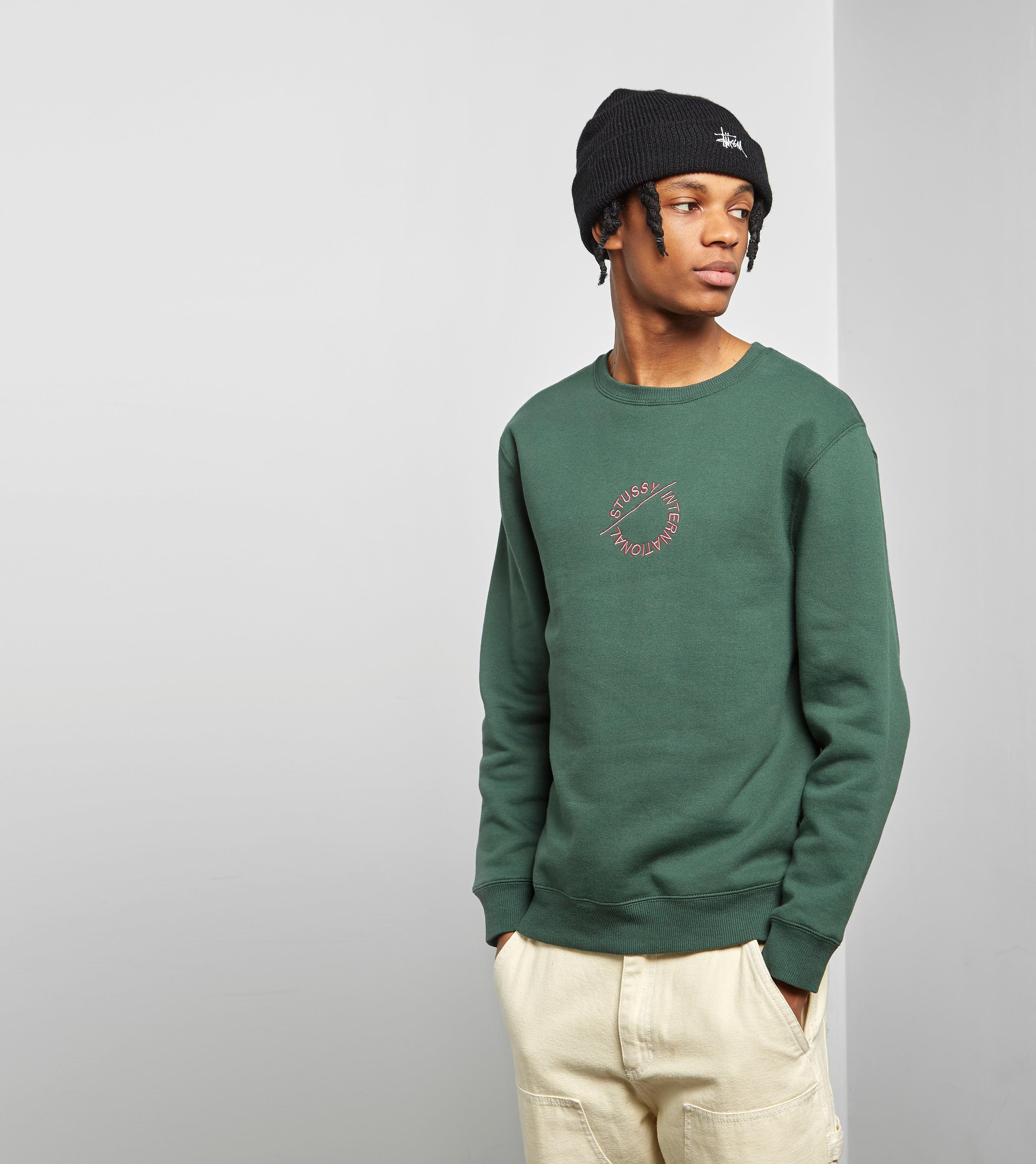Stussy International Circle Crewneck Sweater