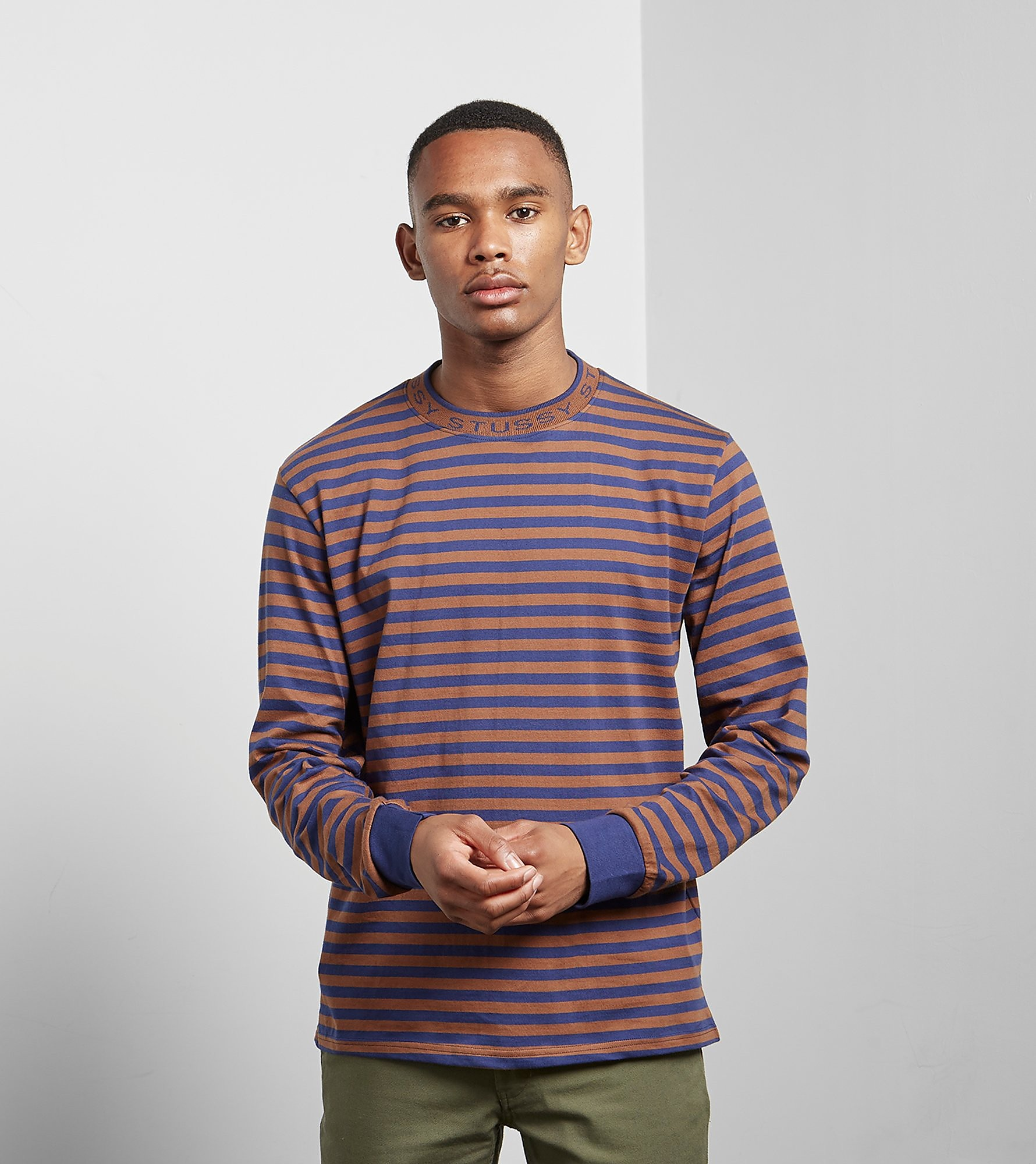 Stussy Jacquard Long Sleeved T-Shirt