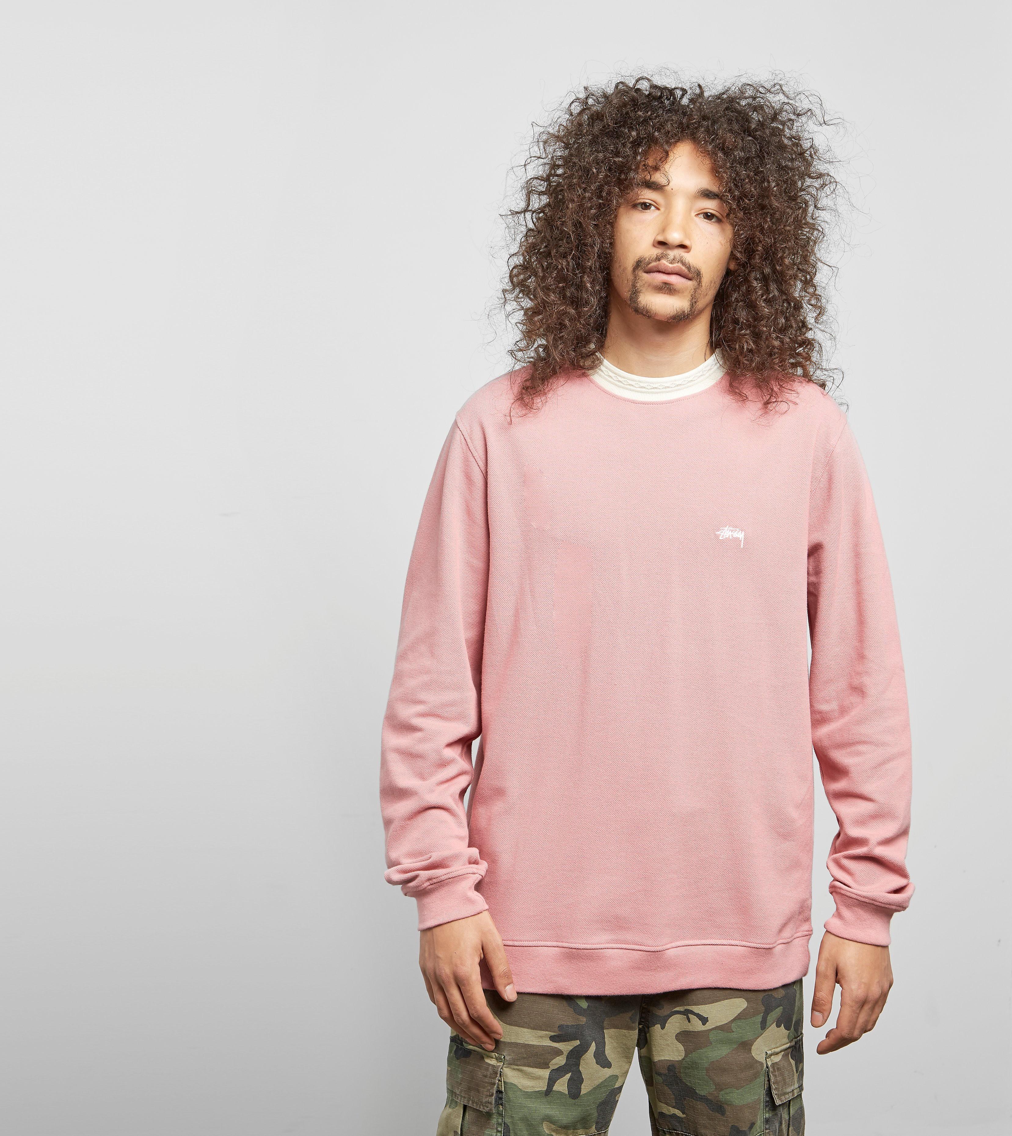 Stussy Diamond Pique Long Sleeved T-Shirt
