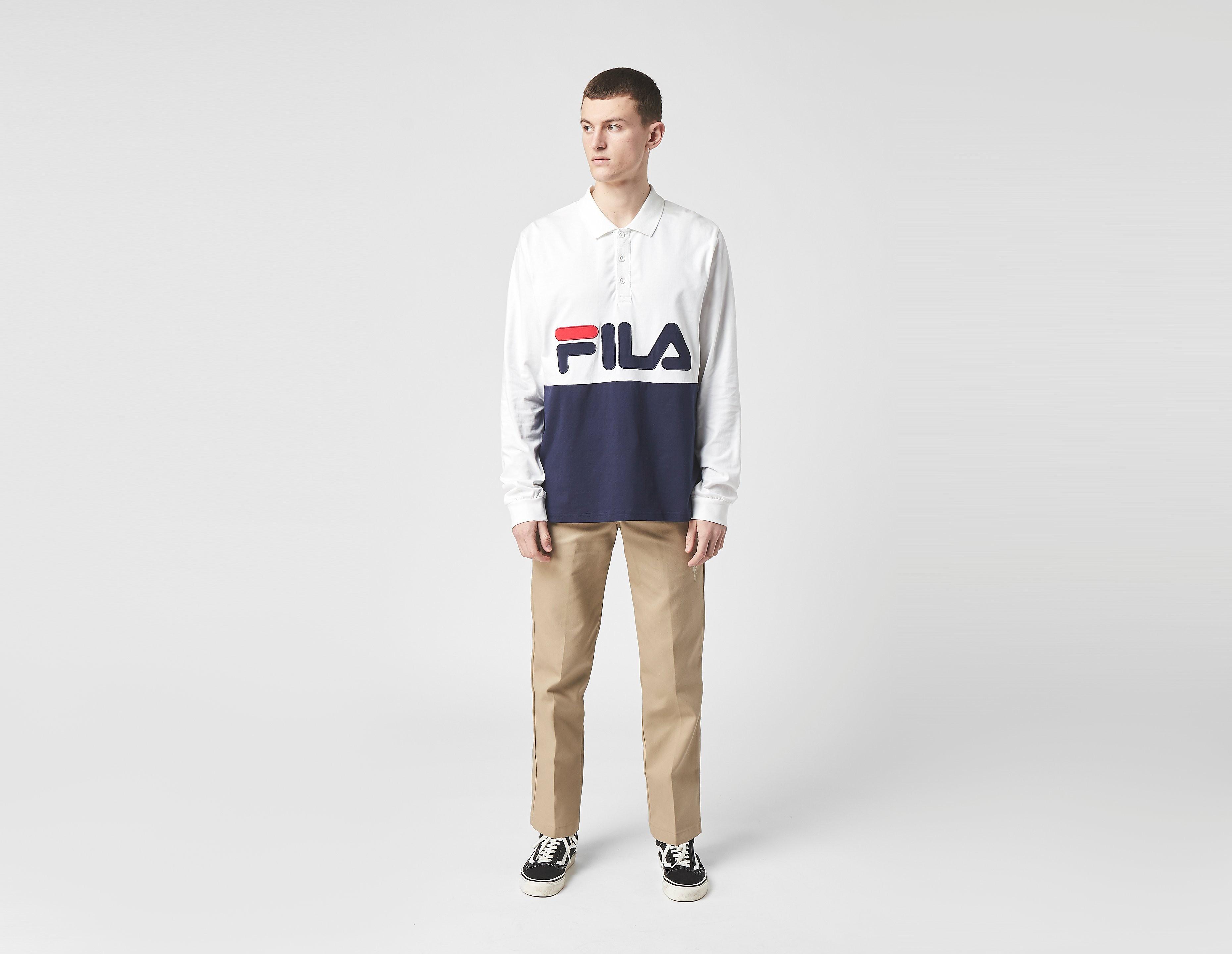 Fila Logowood Polo Shirt - size? Exclusive