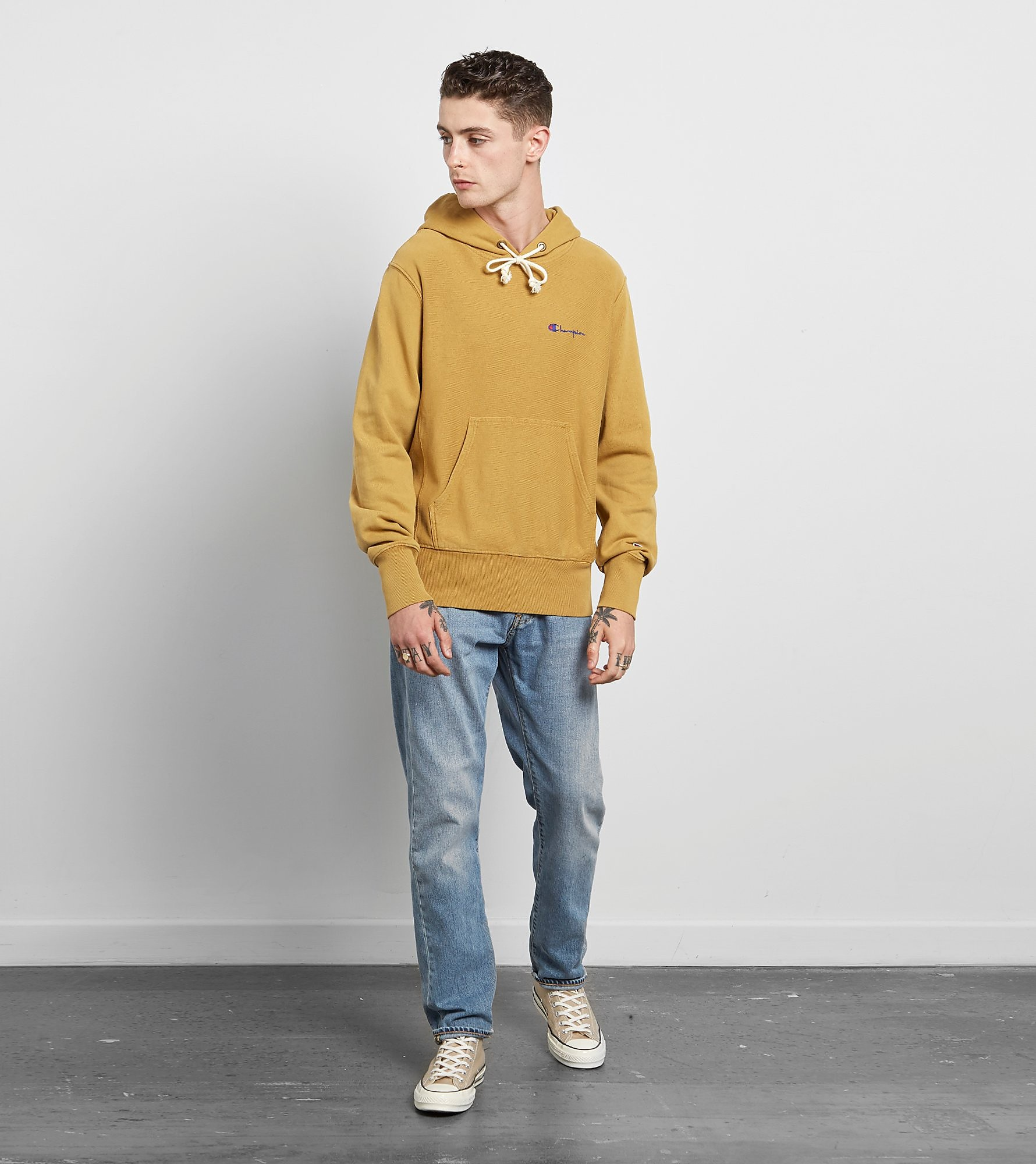 Champion Sudadera con capucha Garment Dyed - size? Exclusiva