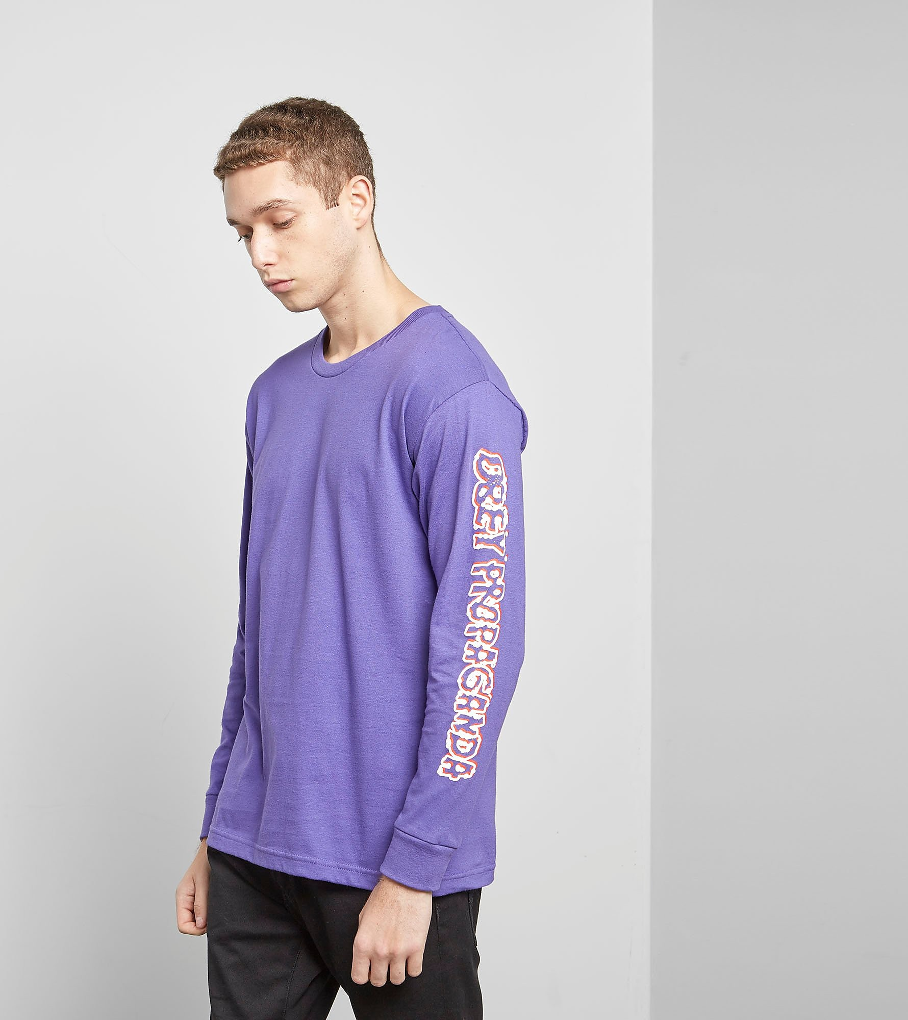 Obey Long Sleeved Public Opinion T-Shirt