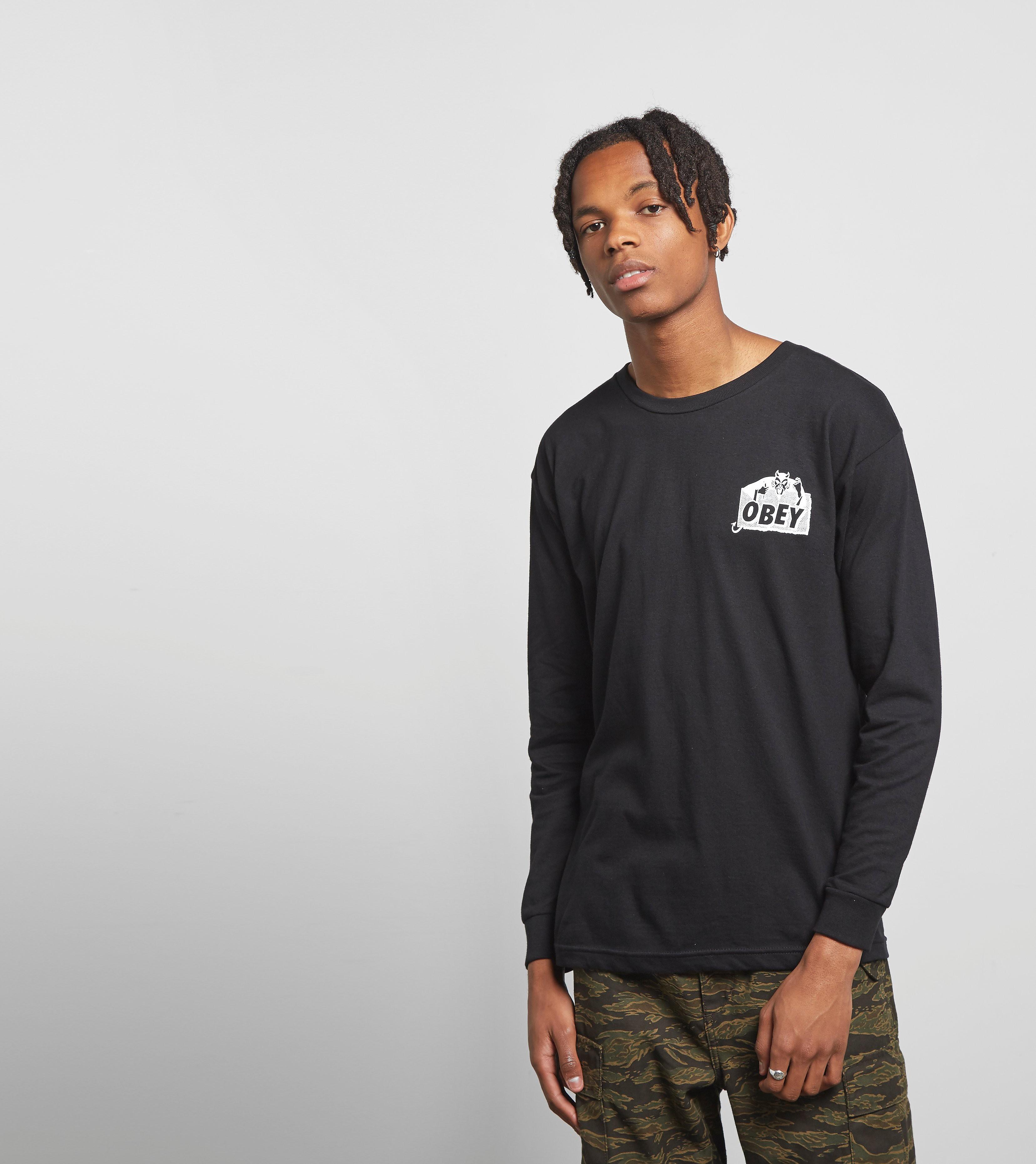 Obey Long Sleeved Devil T-Shirt