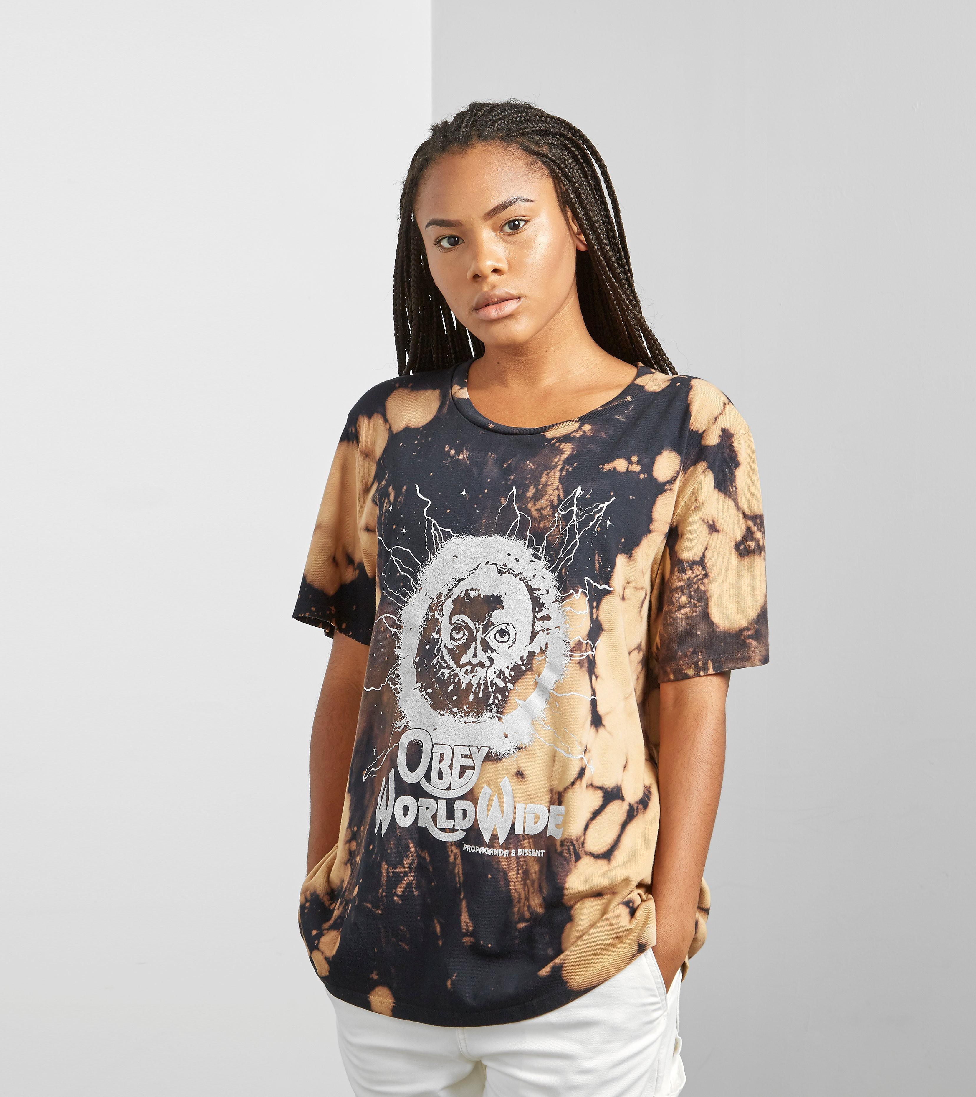 Obey Tour Tee Bleach T-Shirt