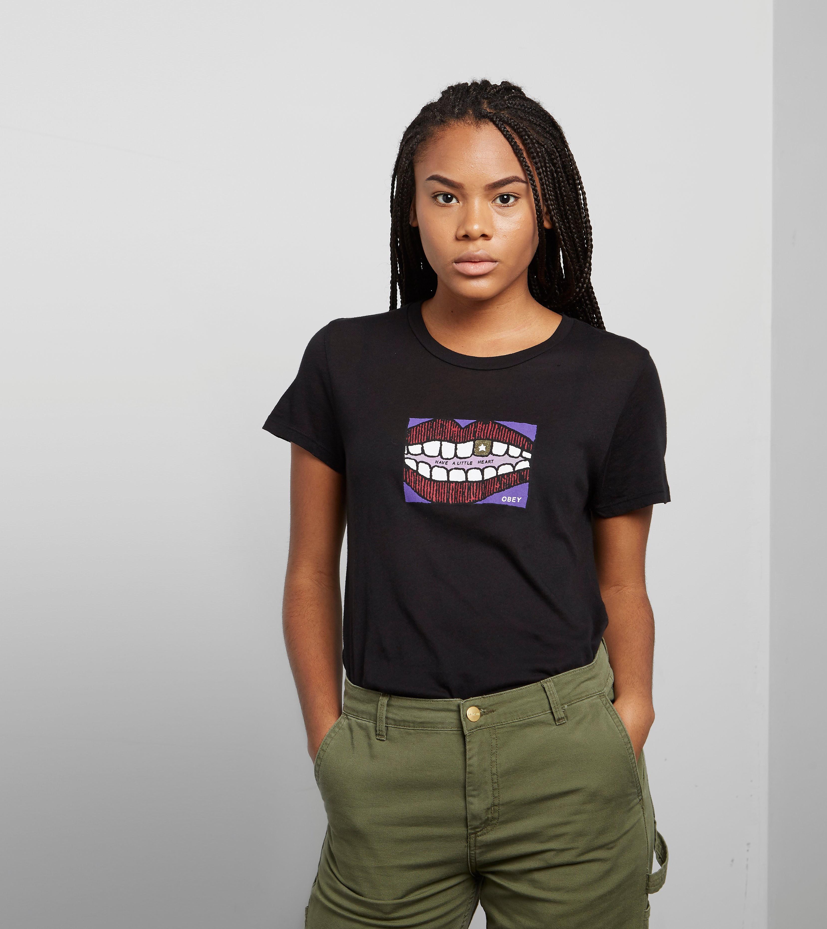 Obey Little Heart Babydoll T-Shirt