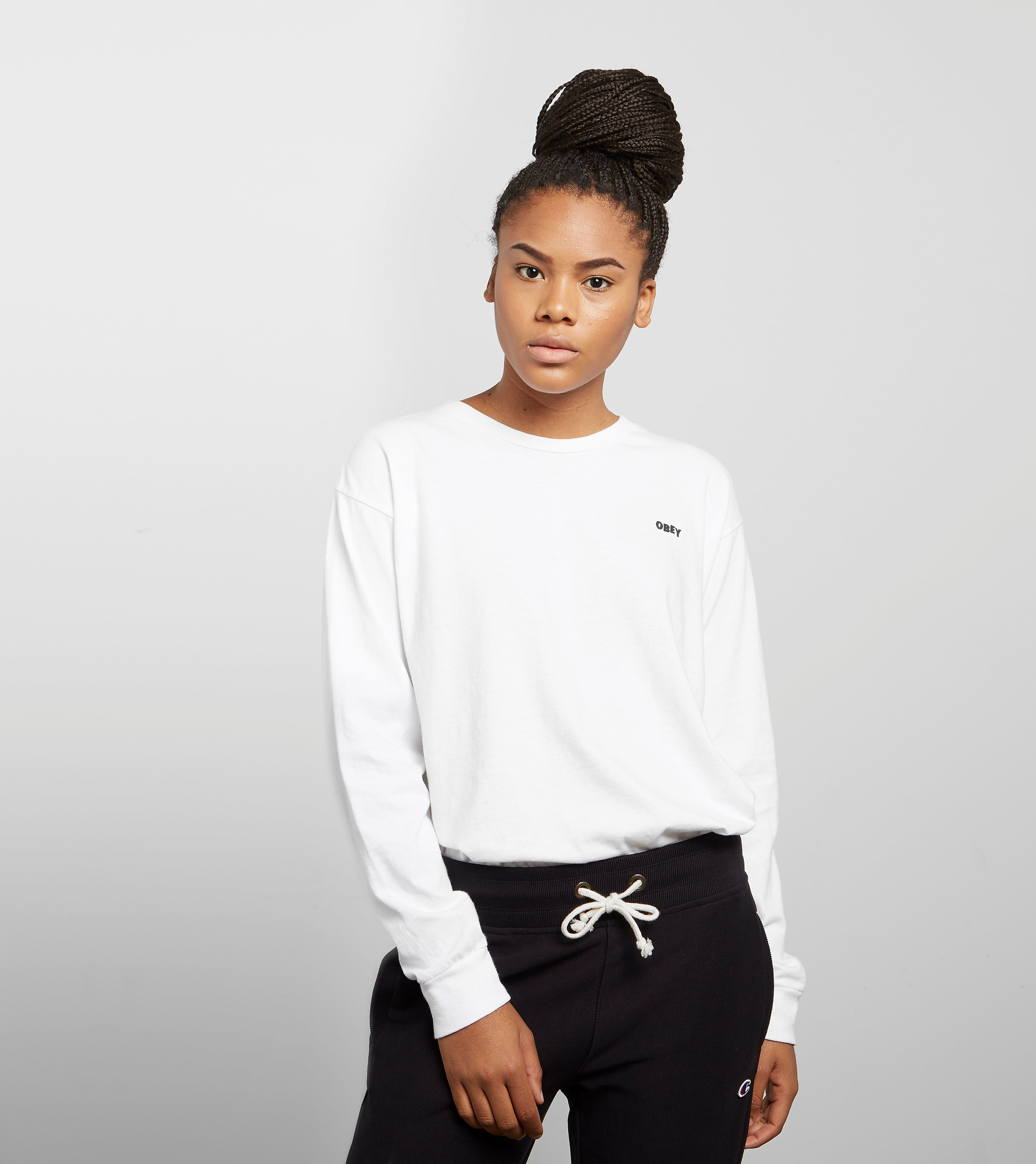 Obey Love Cuffs Long Sleeved T-Shirt