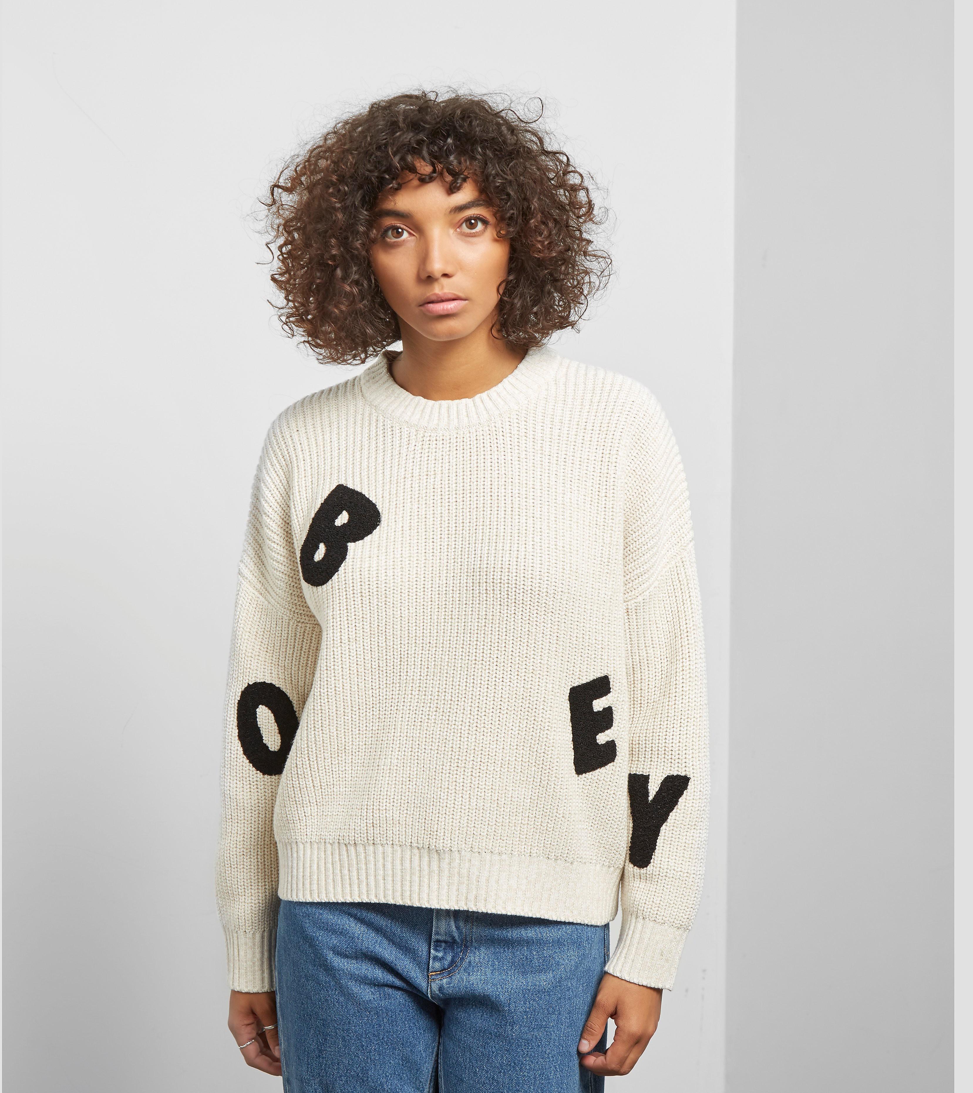 Obey Jumbled Crew Sweater
