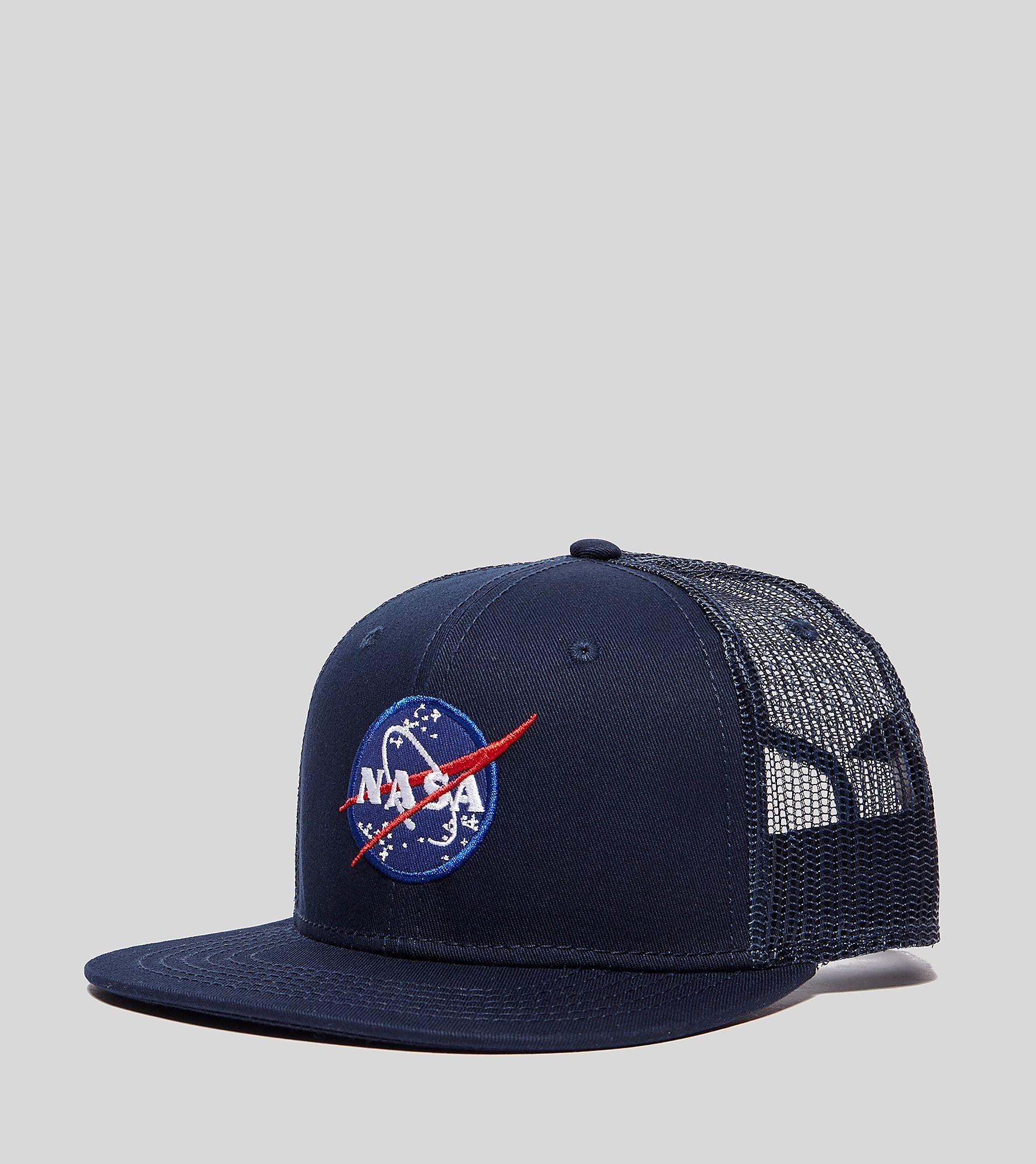 Alpha Industries Nasa Trucker Cap, azul