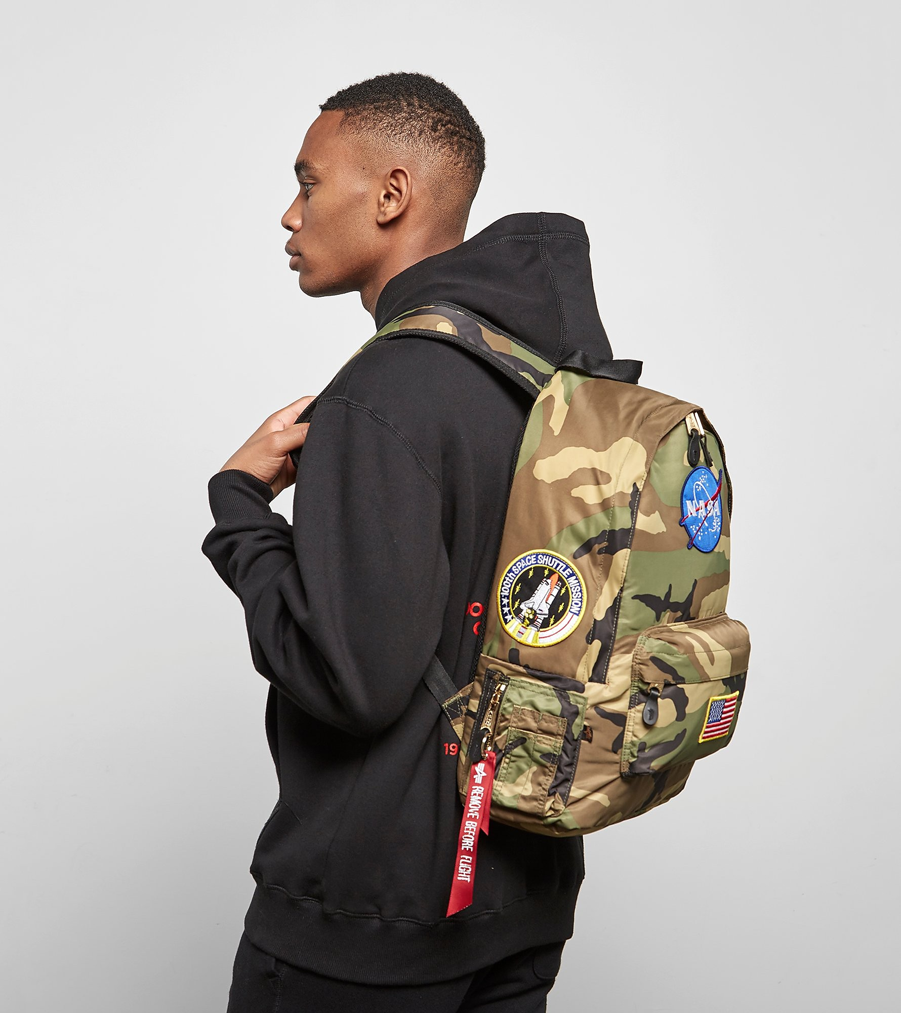 Alpha Industries Nasa Pilot Backpack, Camoflauge
