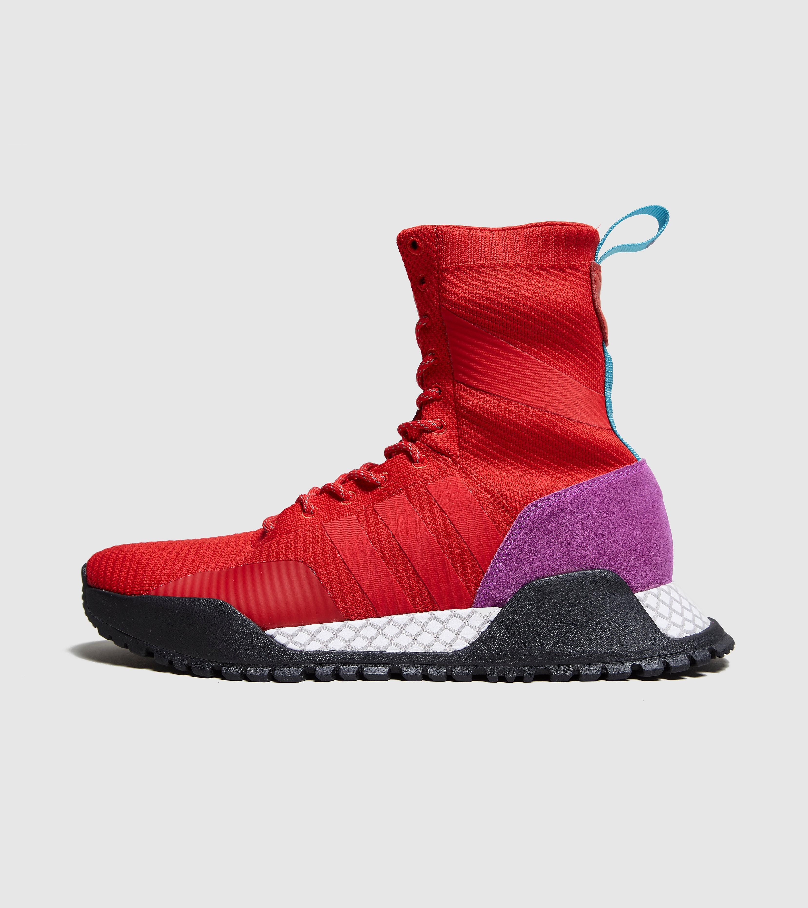 adidas Originals A.F 1.3 Primeknit Boot, Red/Black