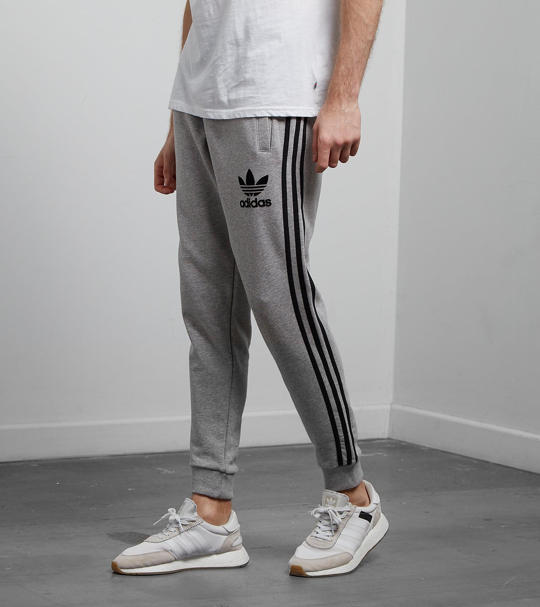 adidas Originals 3-Stripe Fleeced Joggingbroek, Grey