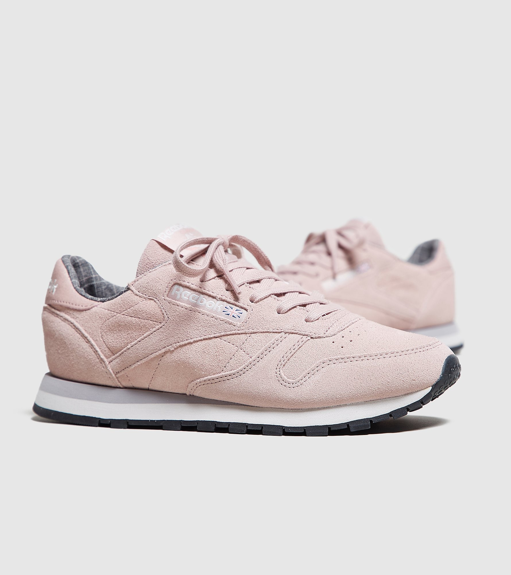 Reebok Classic Leather Dames, Pink/White