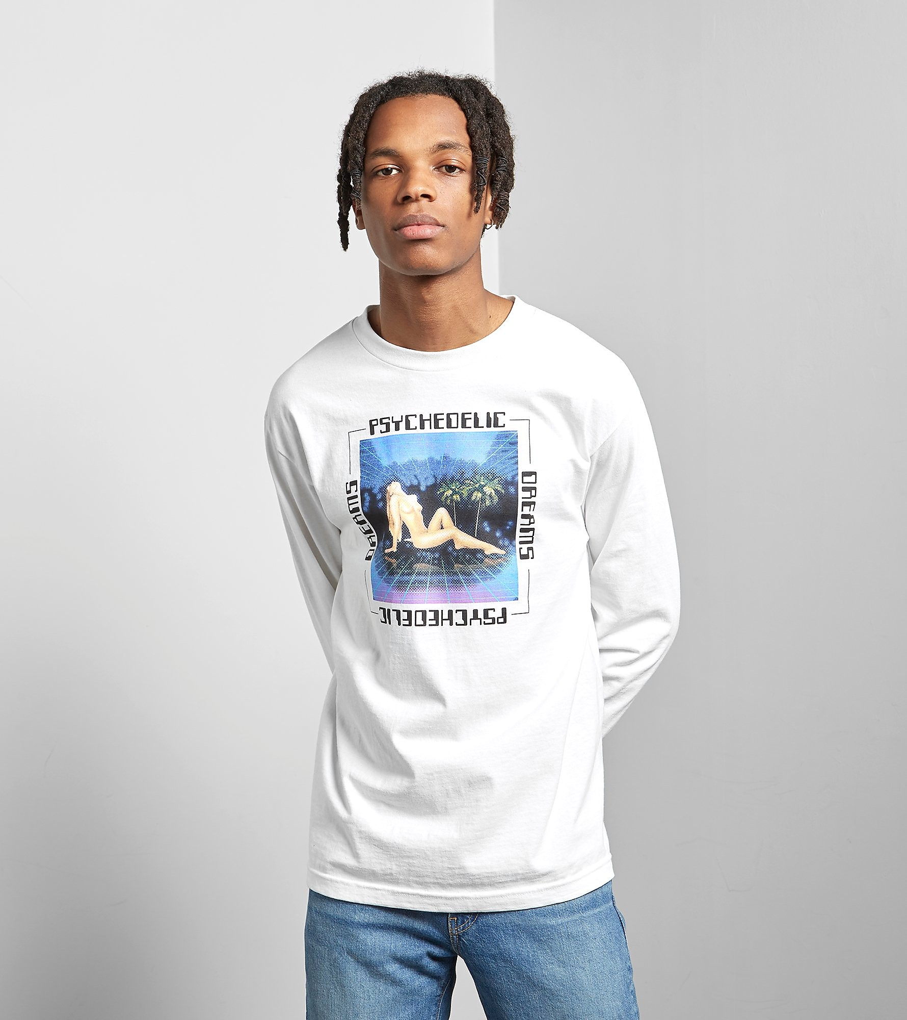 Good Worth & Co Long Sleeved Psychedelic T-Shirt