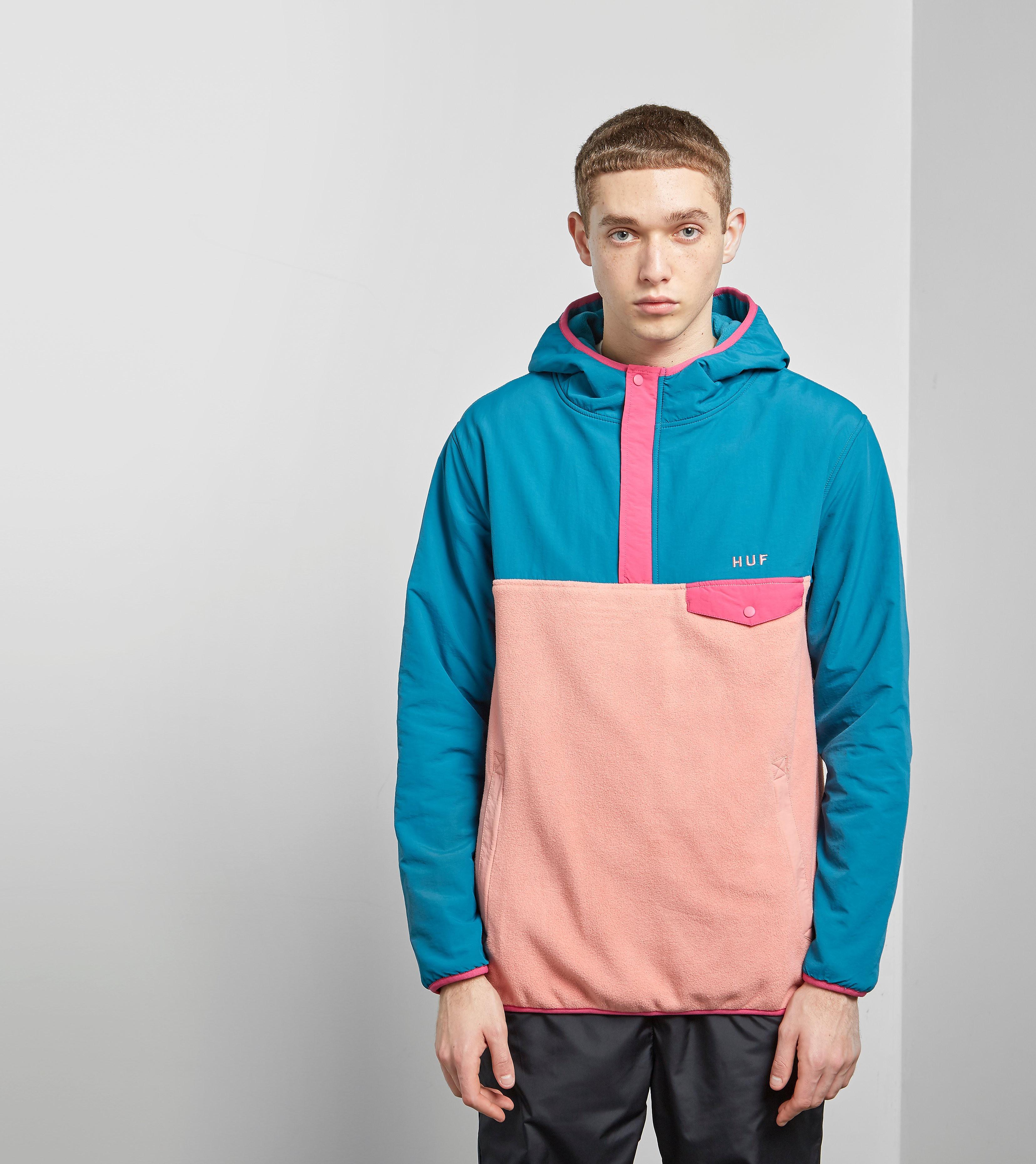 HUF Muir Half Zip Jacket