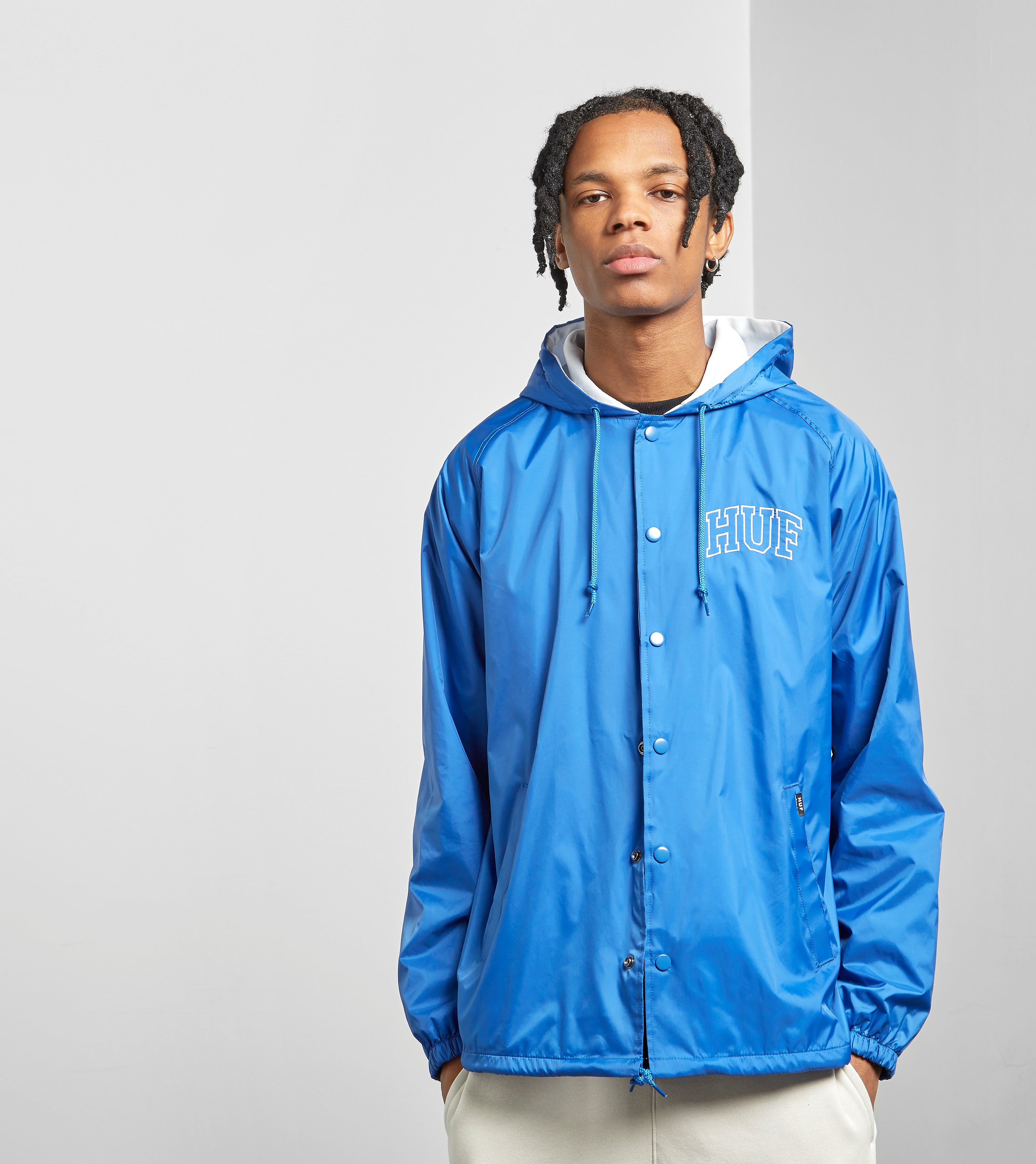 HUF Arch Block Hooded Coach Jas