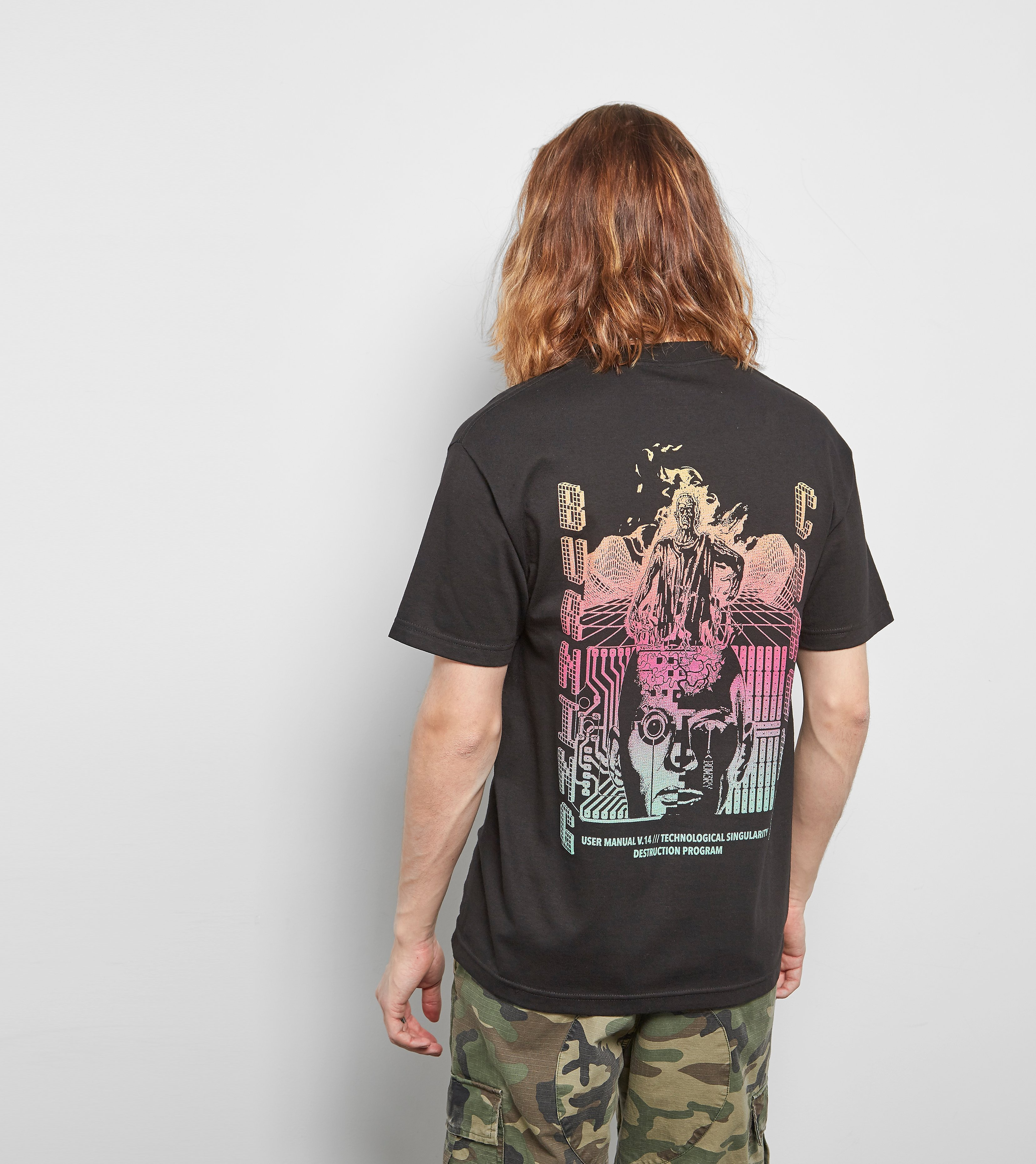 BOW3RY Burning Chrome T-Shirt
