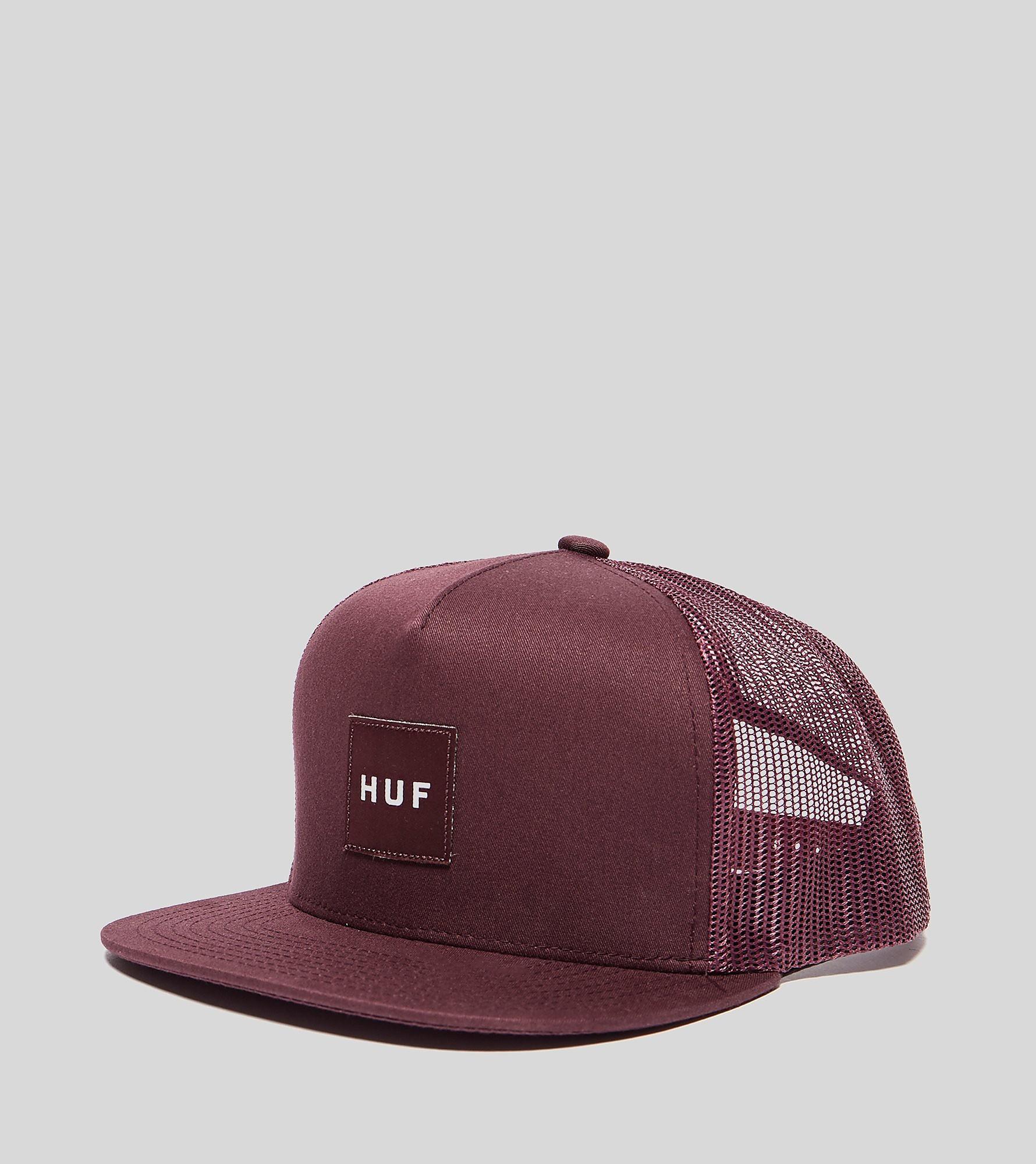 HUF Box Logo Trucker Cap