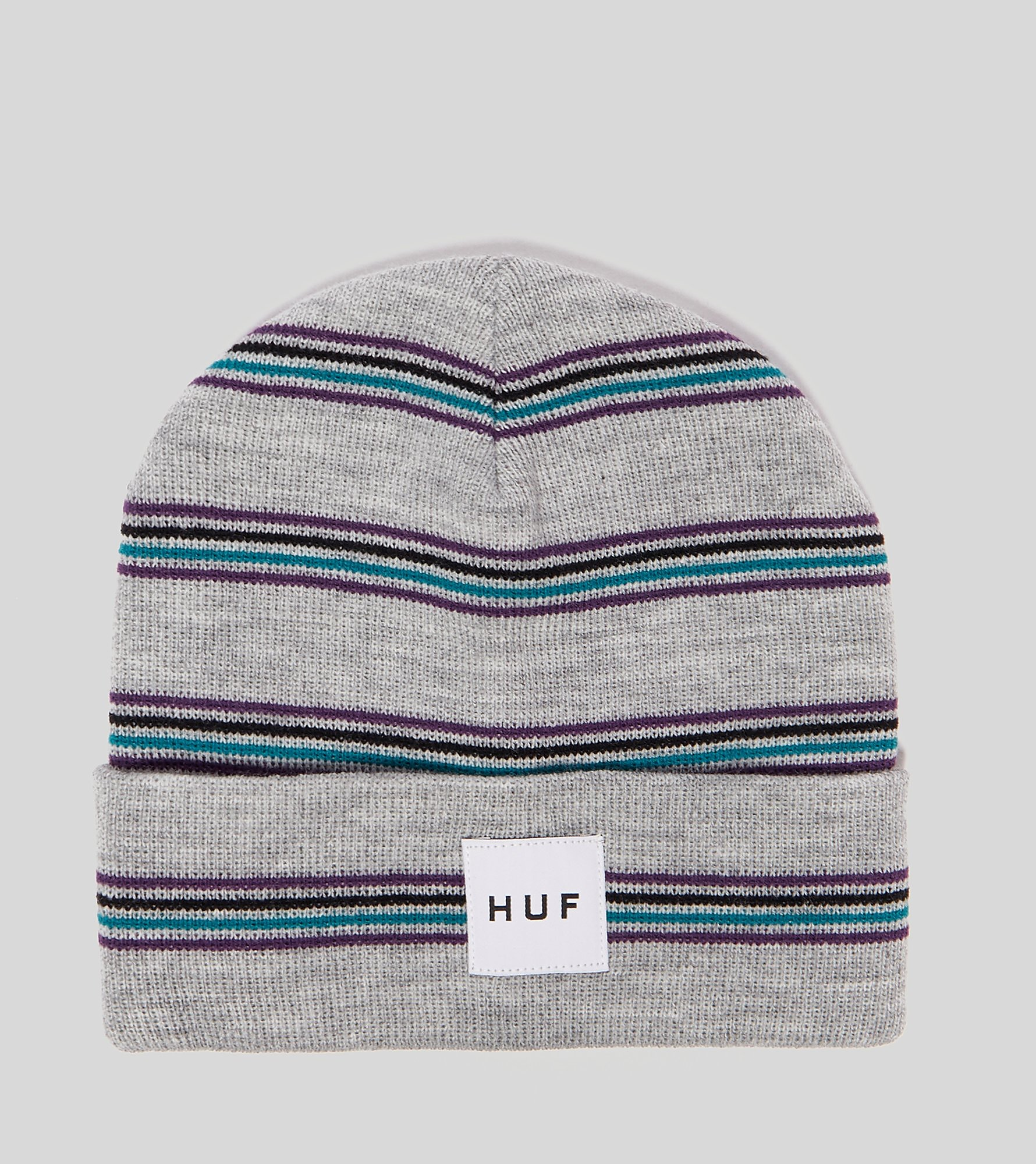HUF Box Label Stripe Beanie Hue
