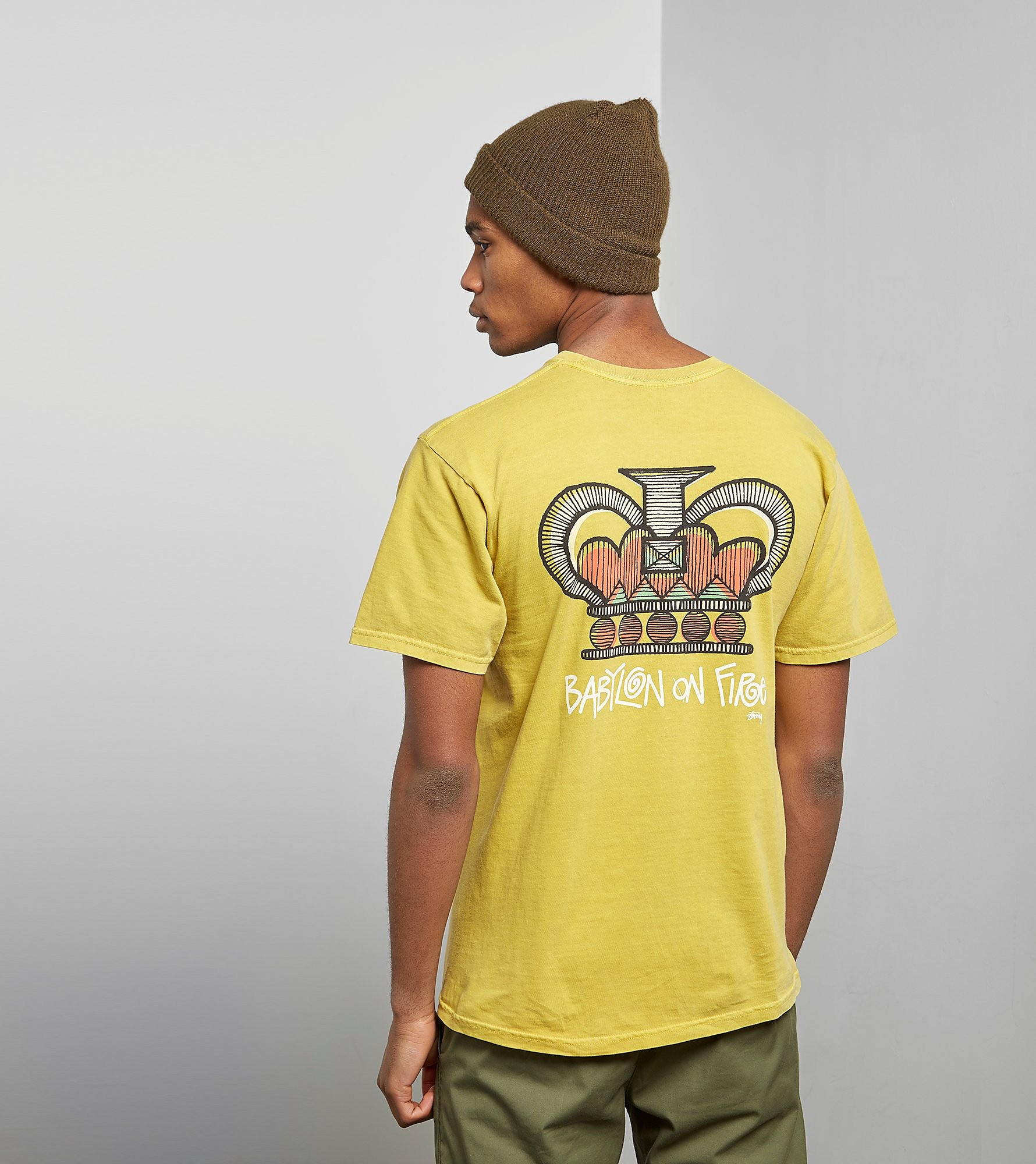 Stussy T-Shirt Babylon On Fire