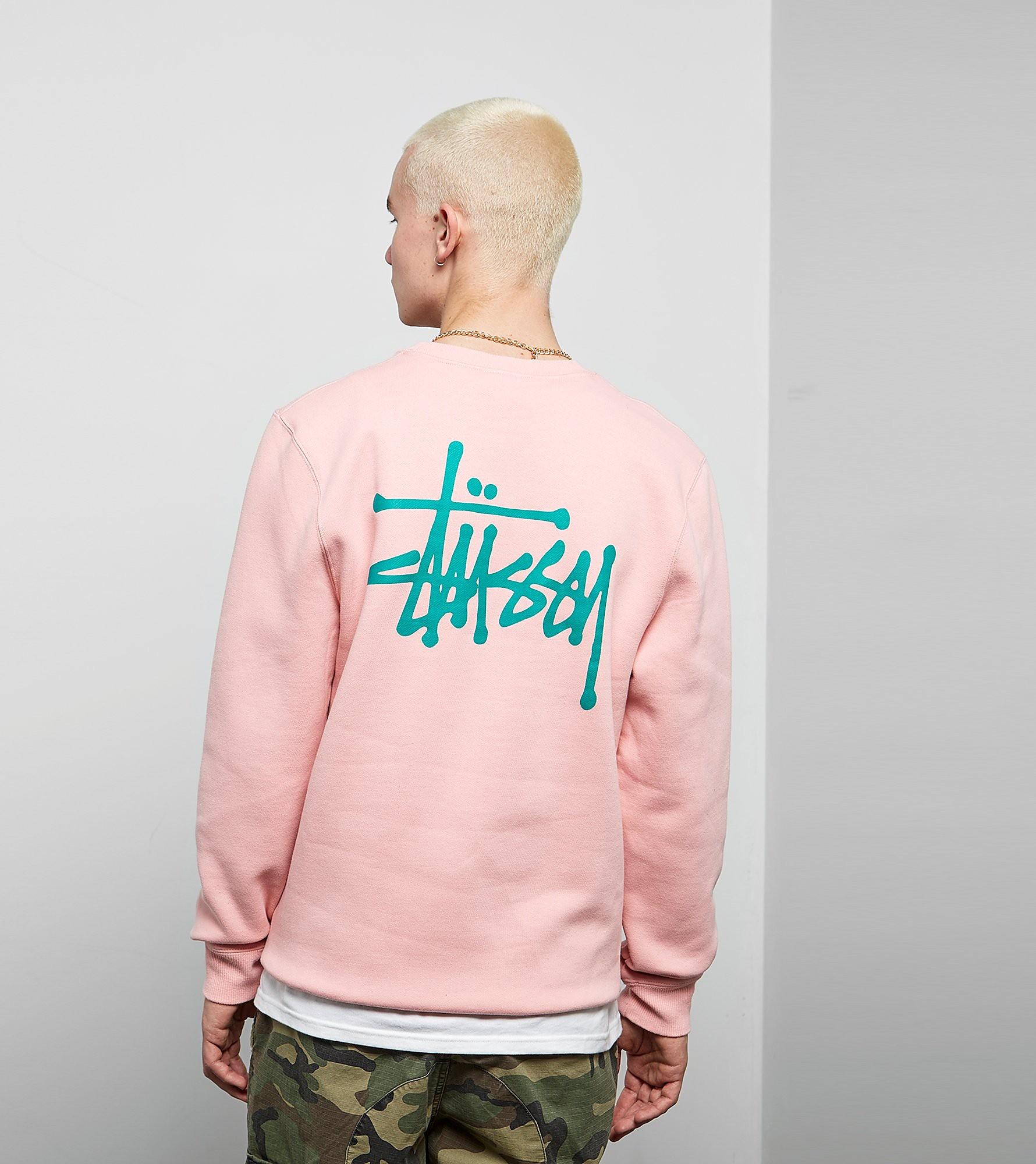 Stussy Basic Logo Crew Sweatshirt
