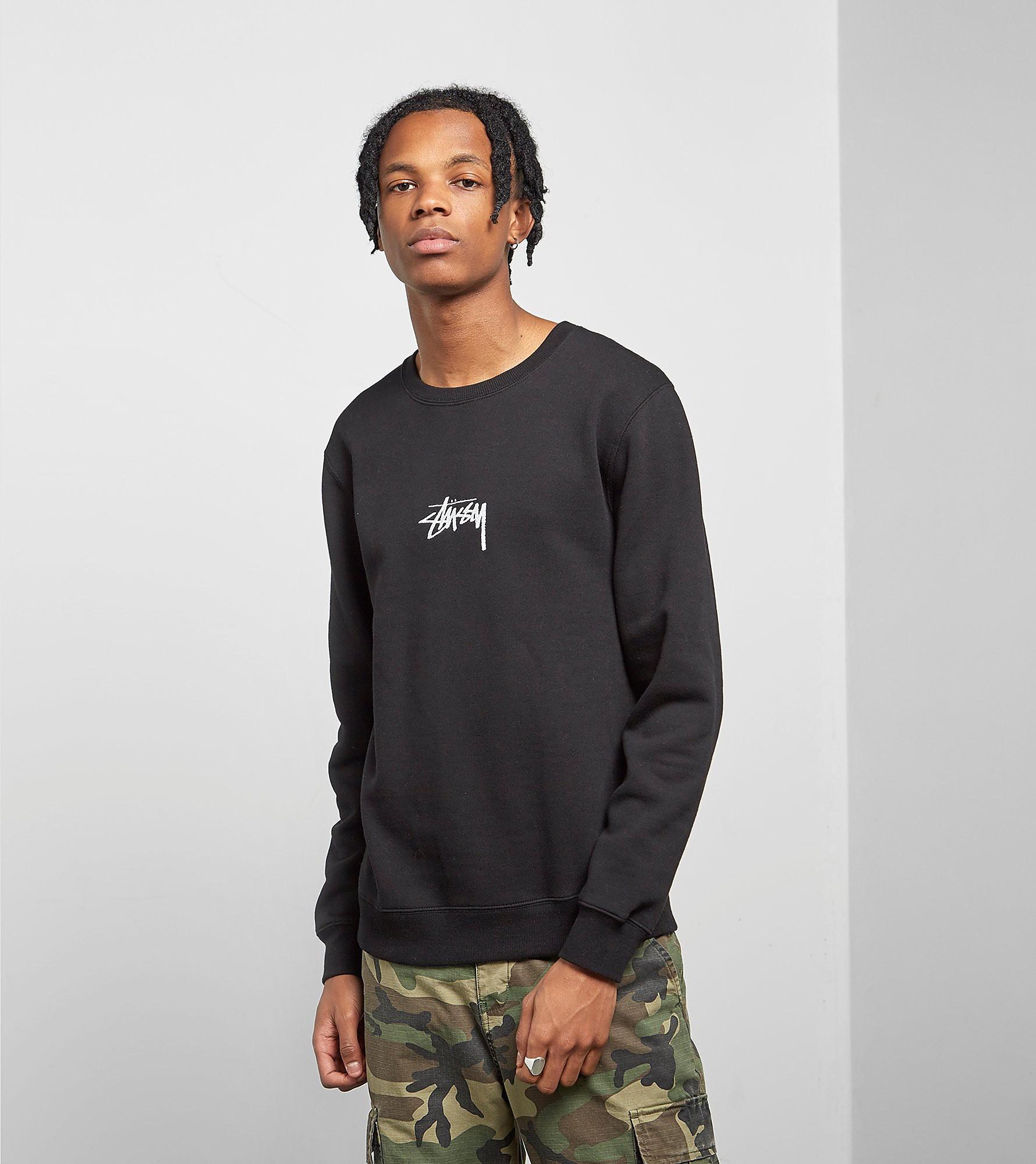 Stussy Stock Applique Crewneck Sweatshirt