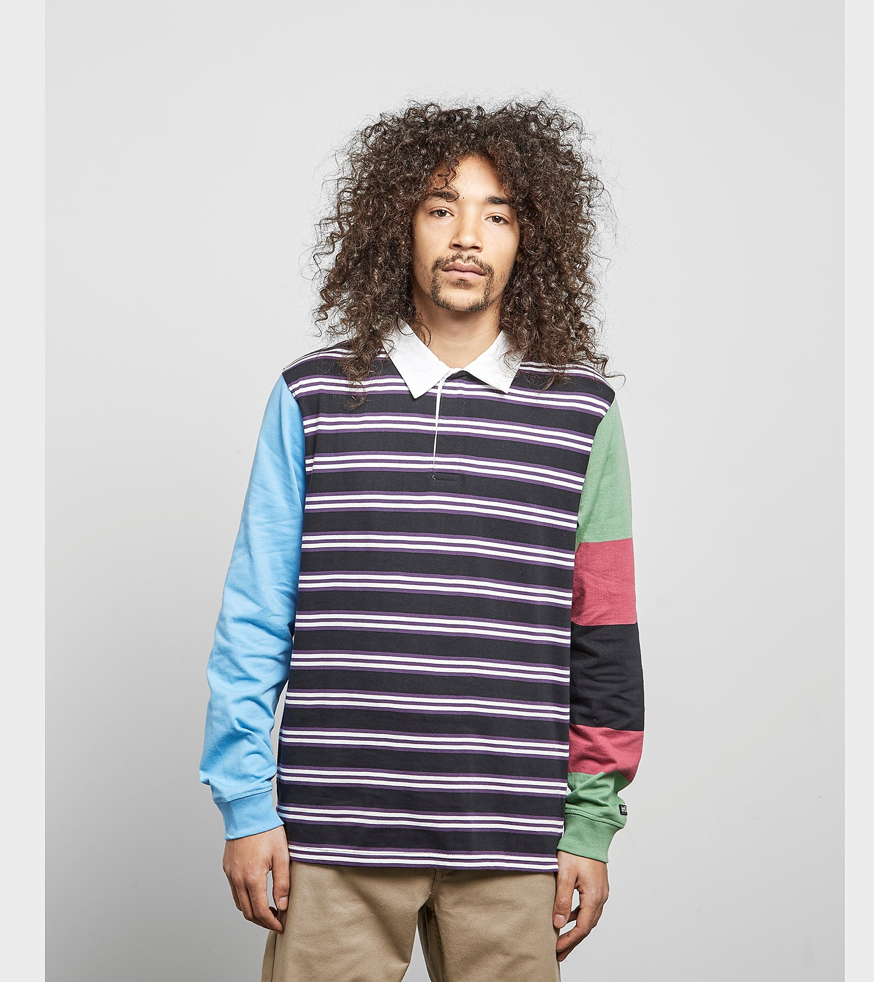 Stussy Mix Up Rugby Shirt
