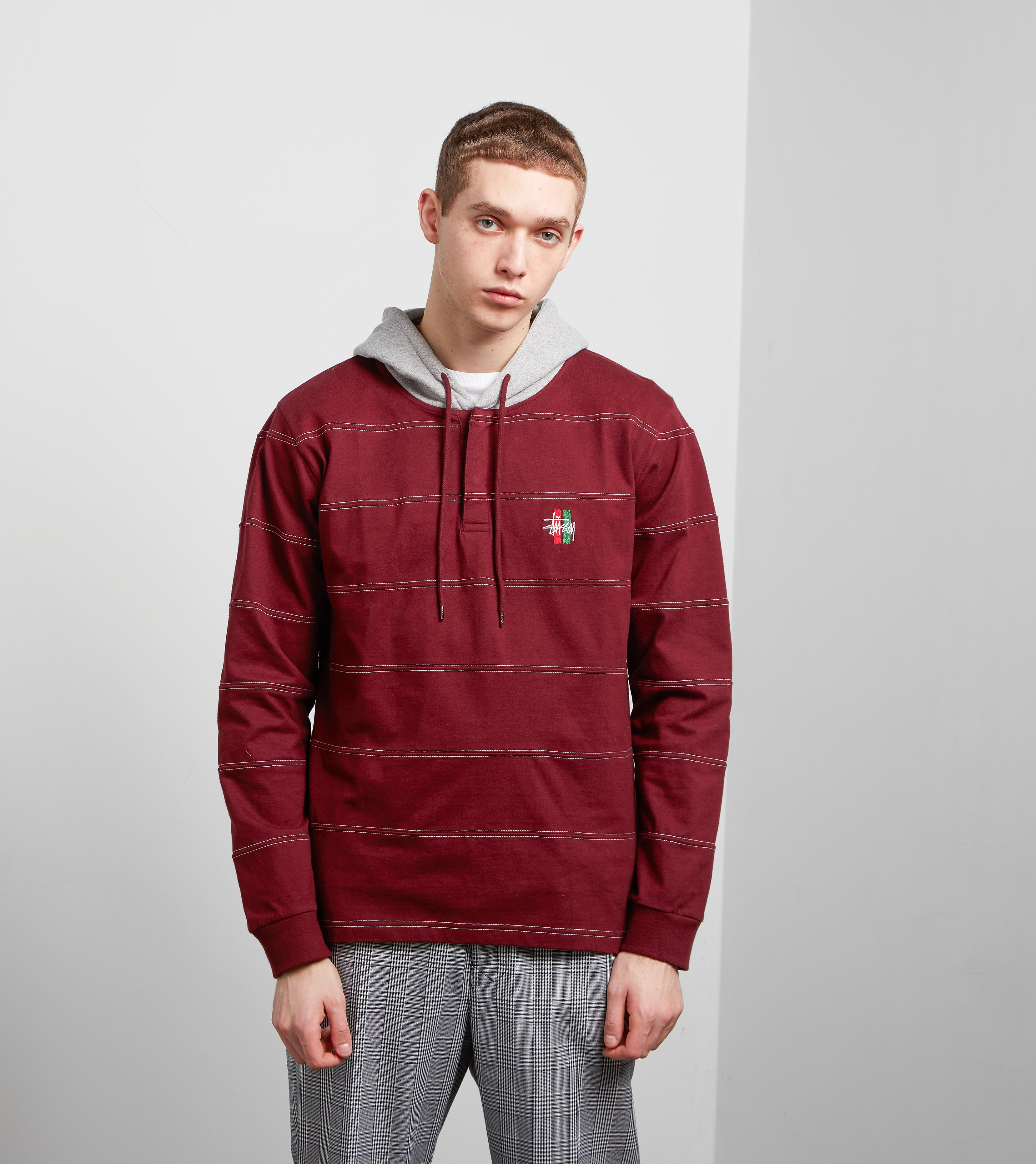 Stussy Heavy Hooded Jersey