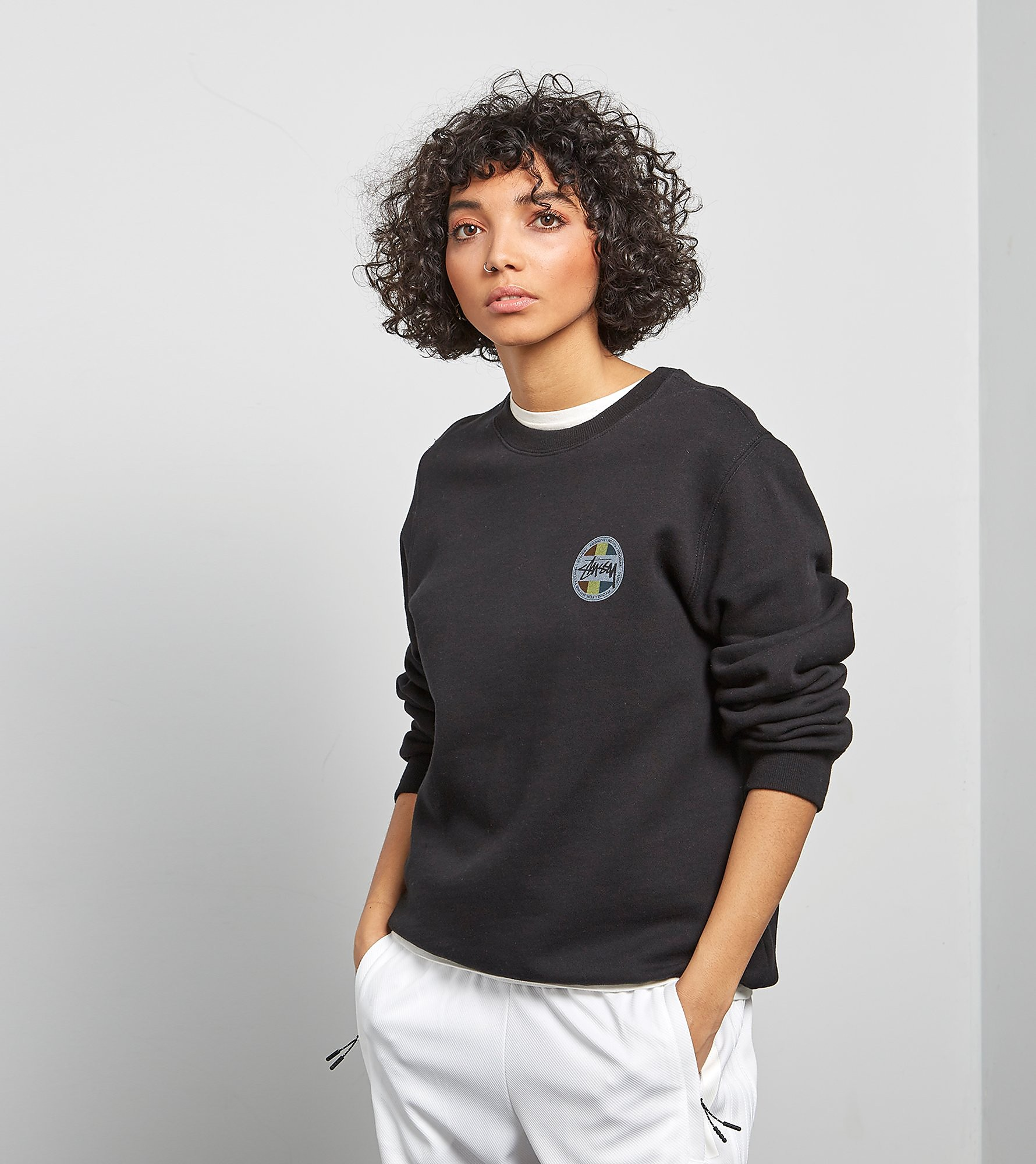 Stussy Sweat Reggae Dot Crewneck