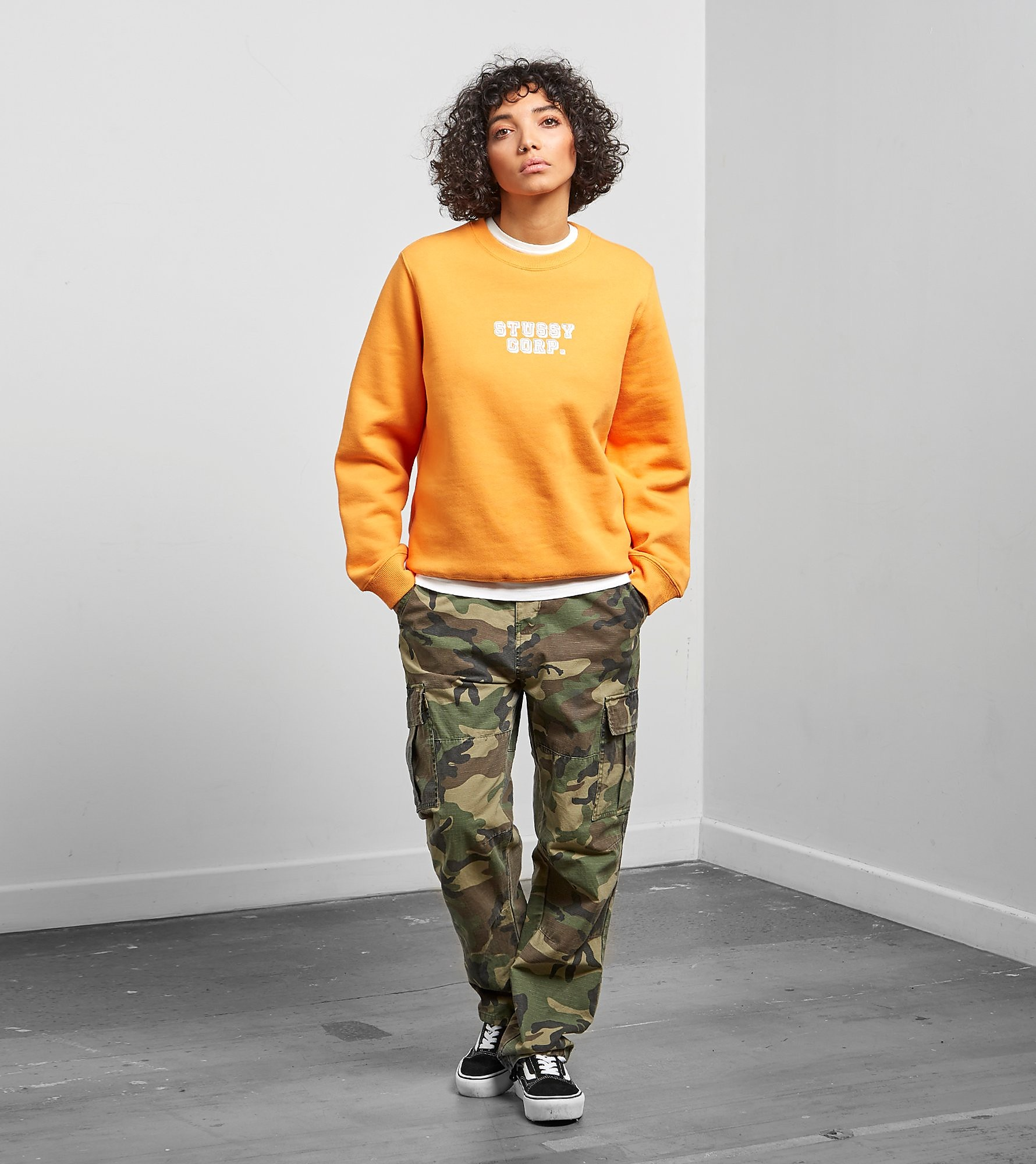Stussy Sweat Corp Crewneck