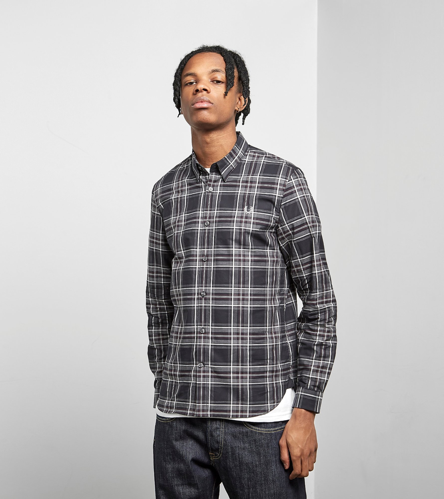 Fred Perry Regimental Tartan Overhemd