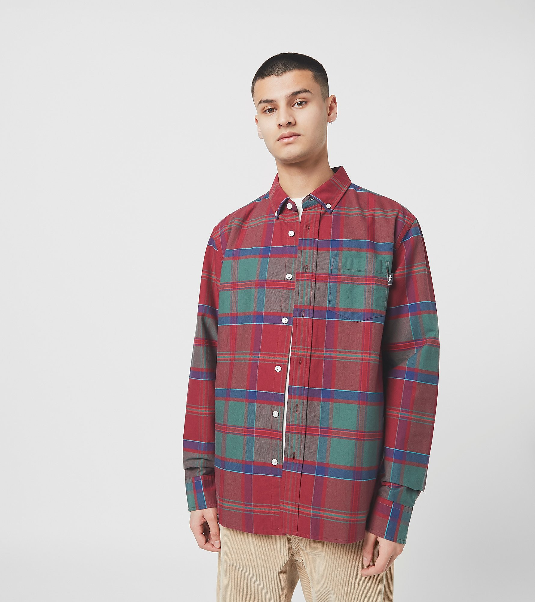 Stussy Chemise Classic Oxford, Rouge