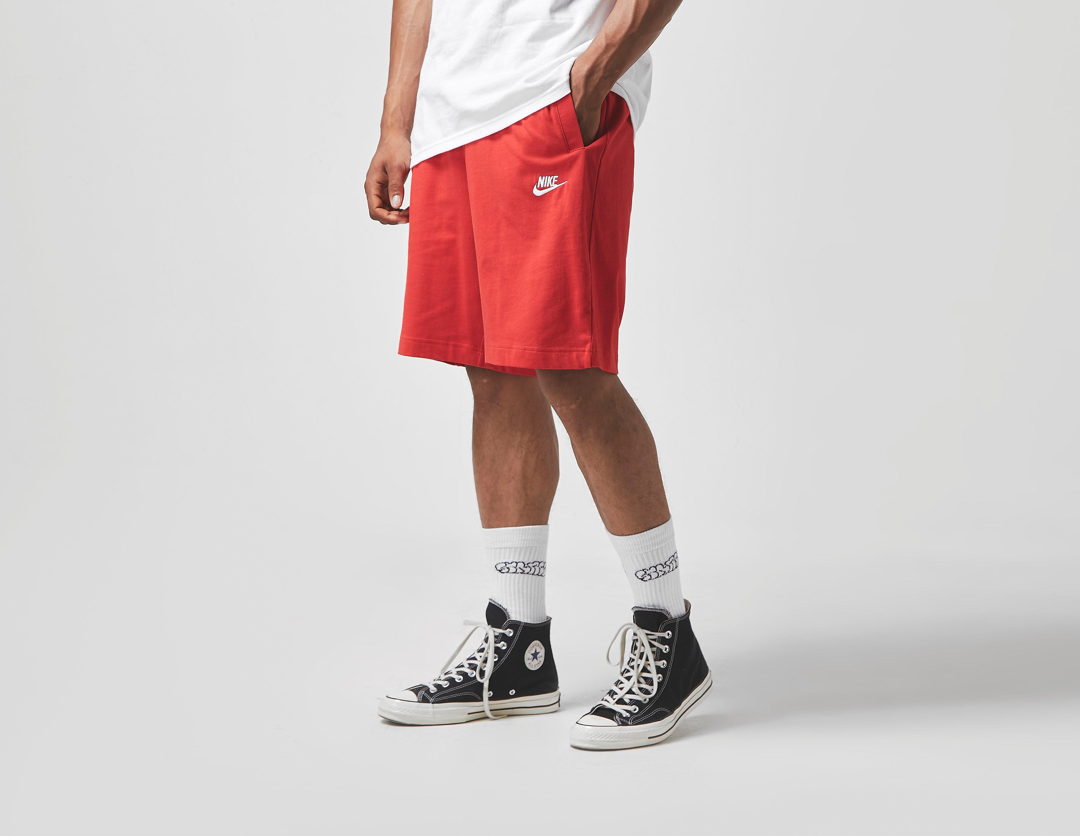Nike Club Short, Rosso
