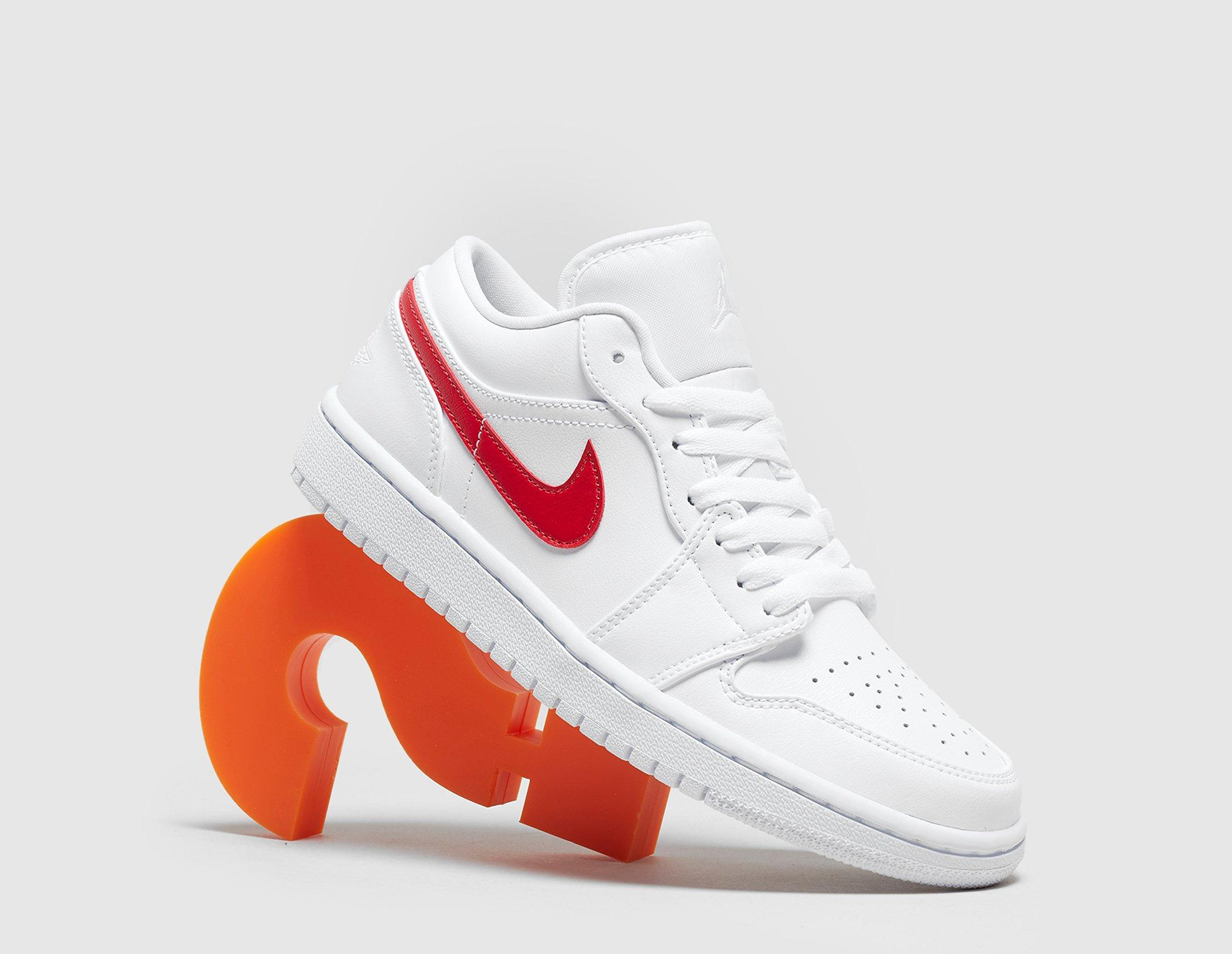 Jordan Air 1 Low Women's, blanco