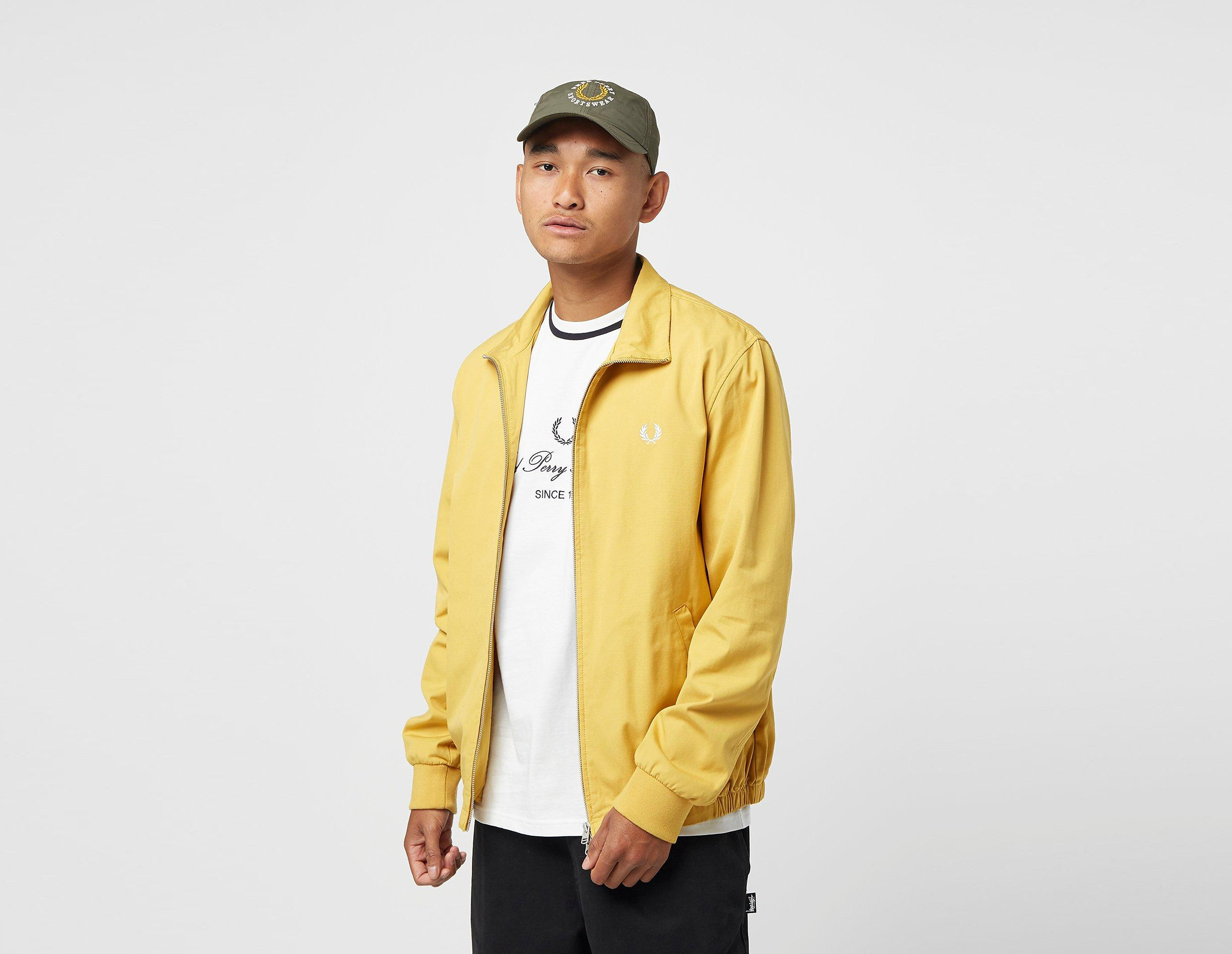 Fred Perry Giacca Embroidered, giallo