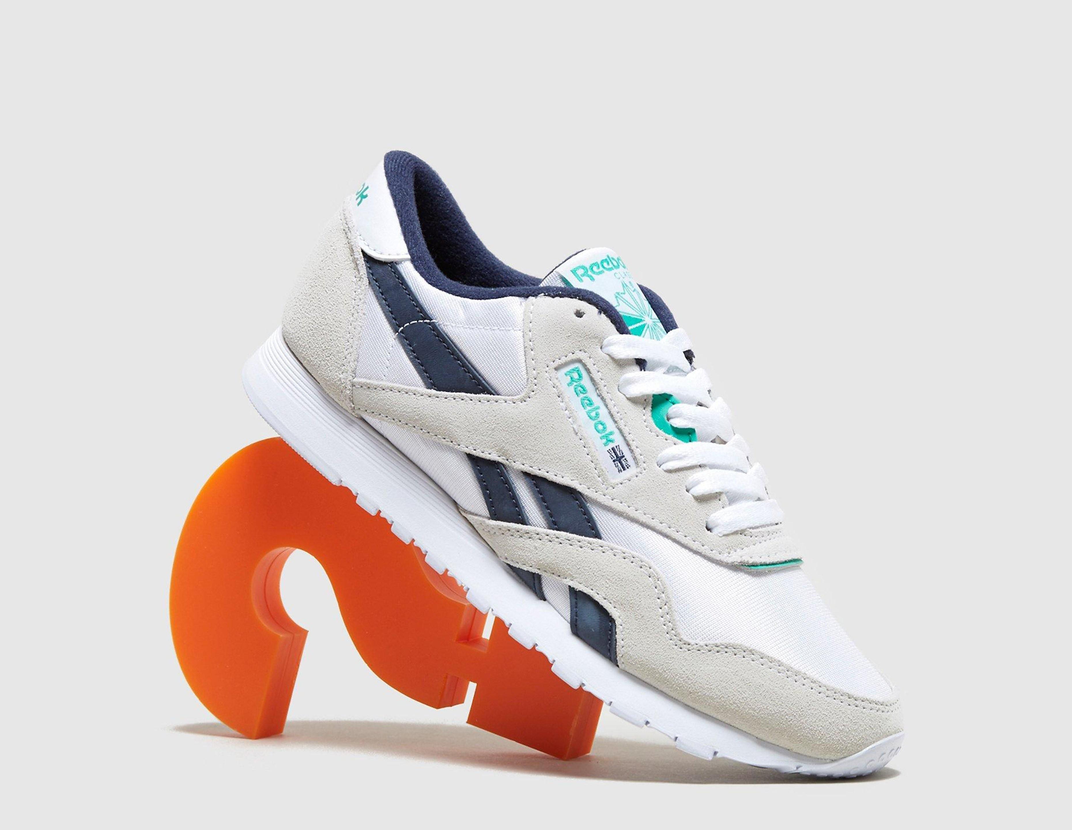 Adidas Classic Nylon, blanco