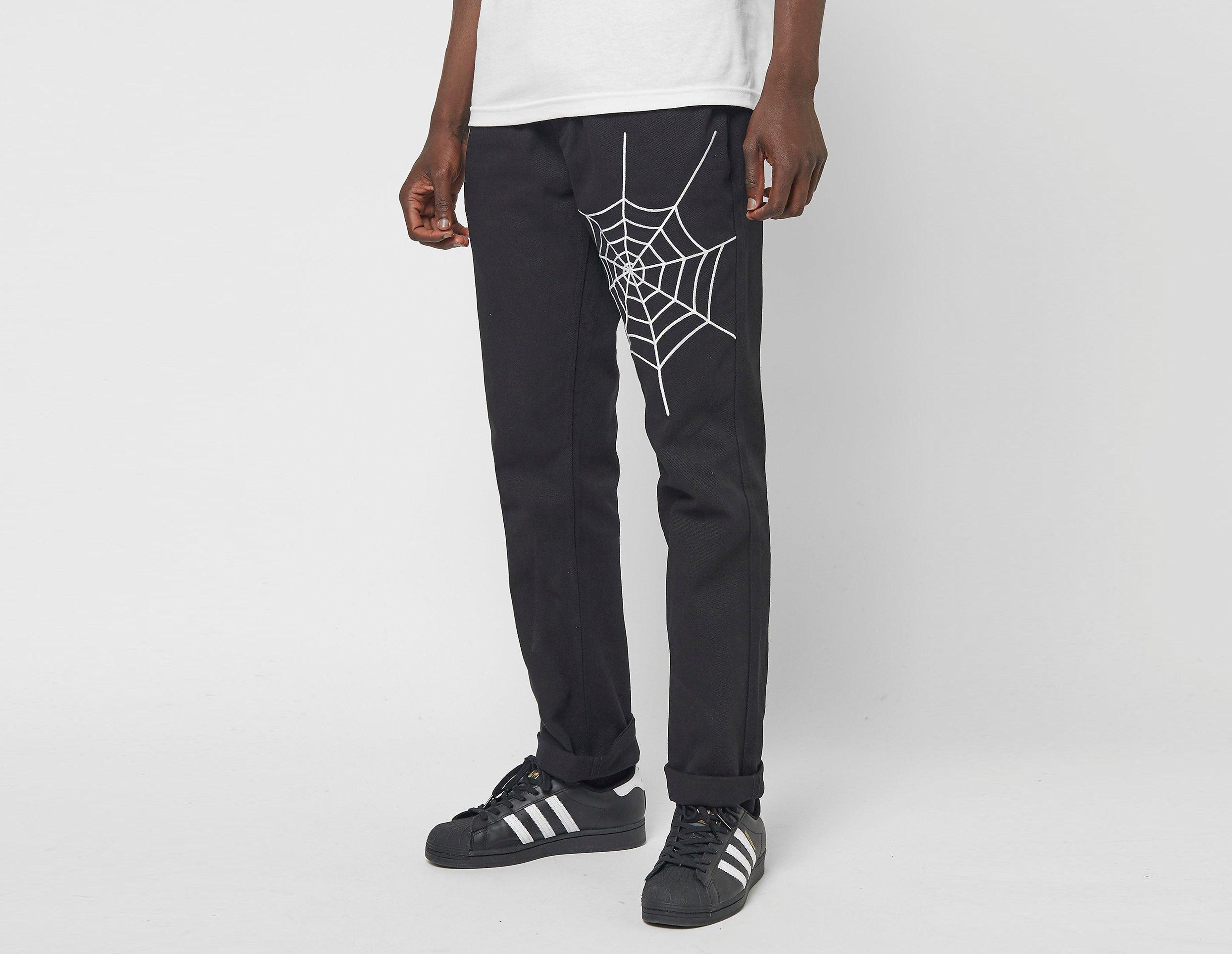 PLEASURES Pantalon Dozer Denim, noir