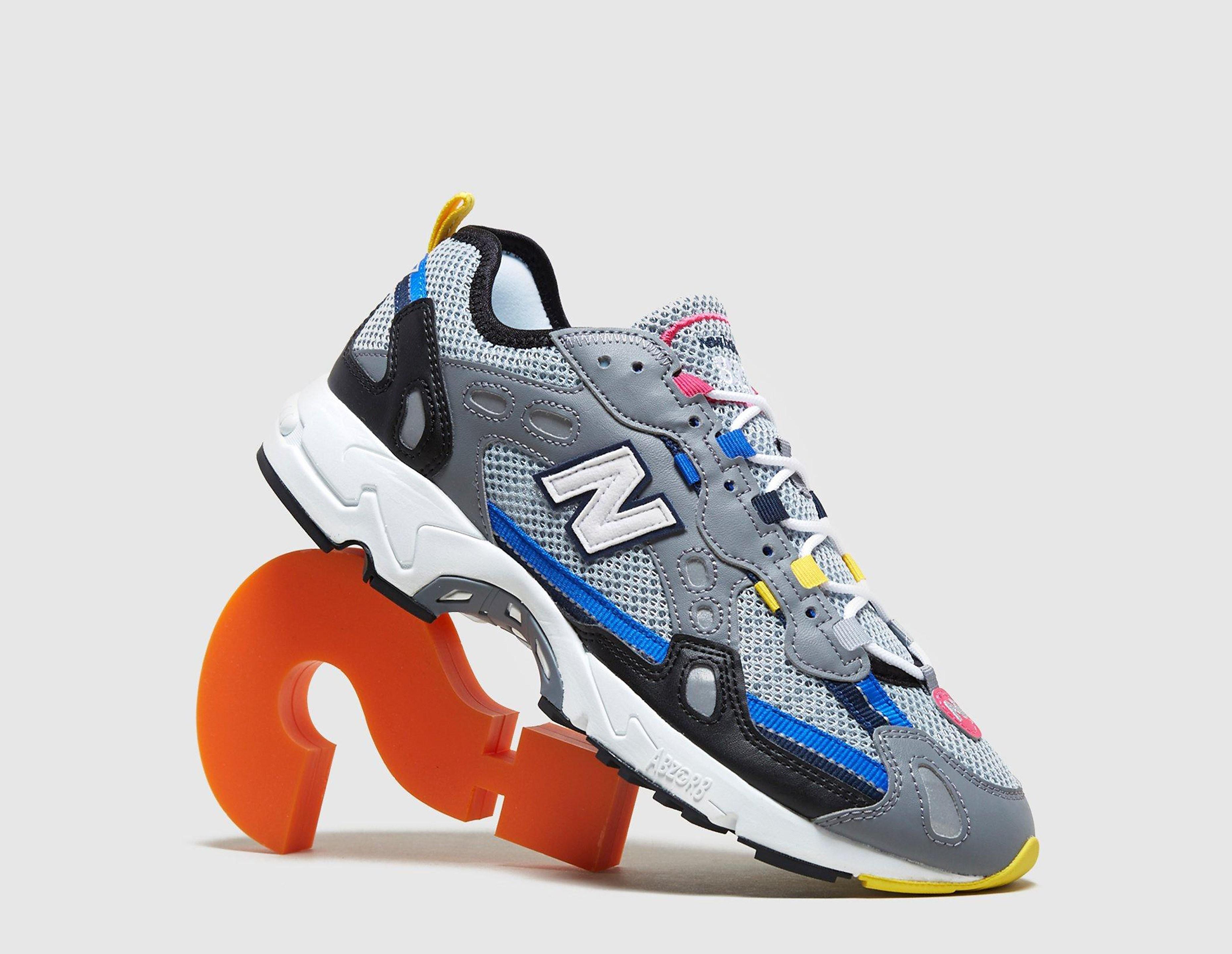 New Balance 827, WHT/BLU-YEL/WHT/BLU-YEL
