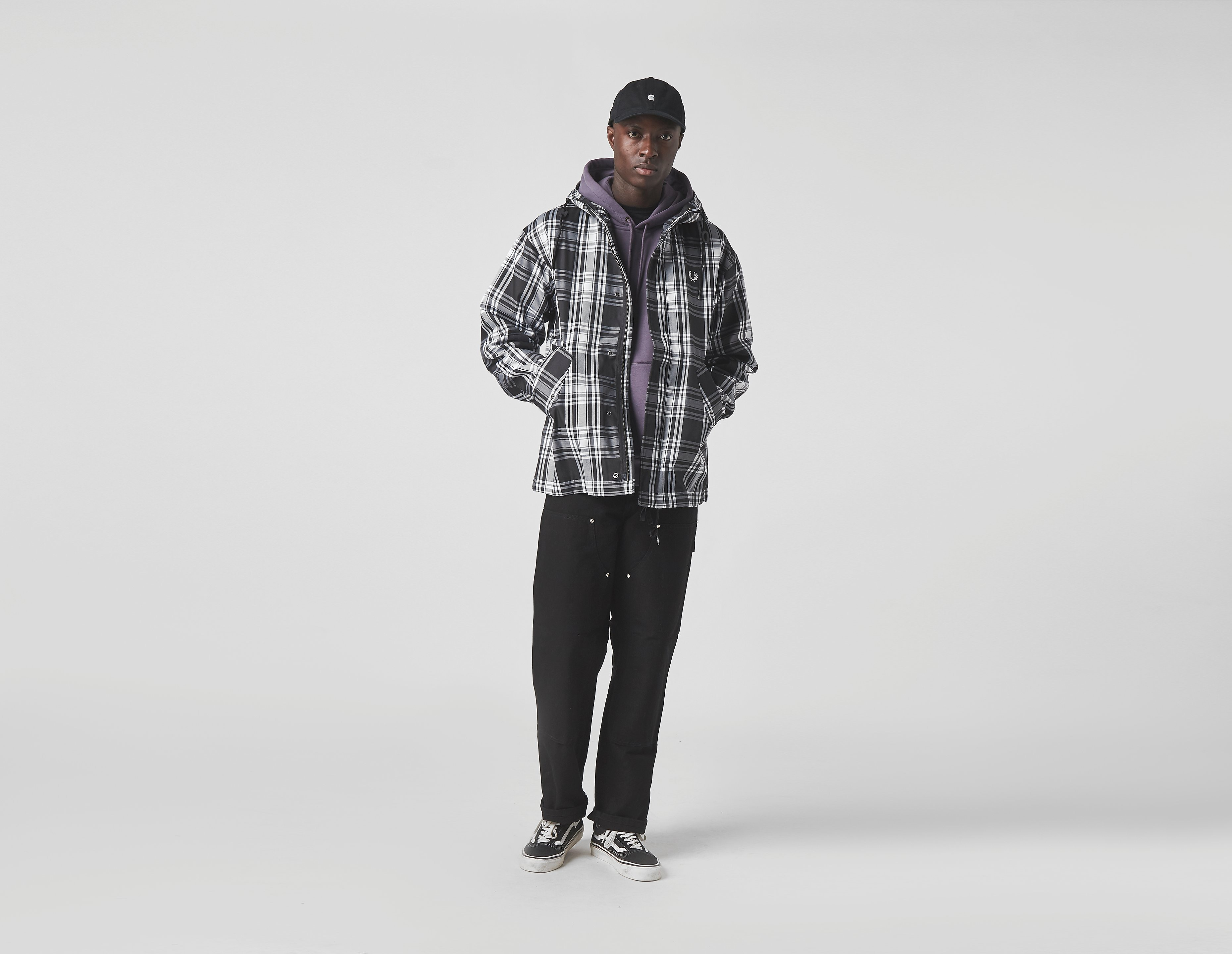 Fred Perry Check Twill Jacket