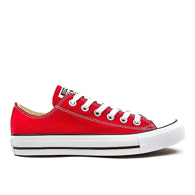 Converse Mens Chuck Taylor All Star Ox - Red