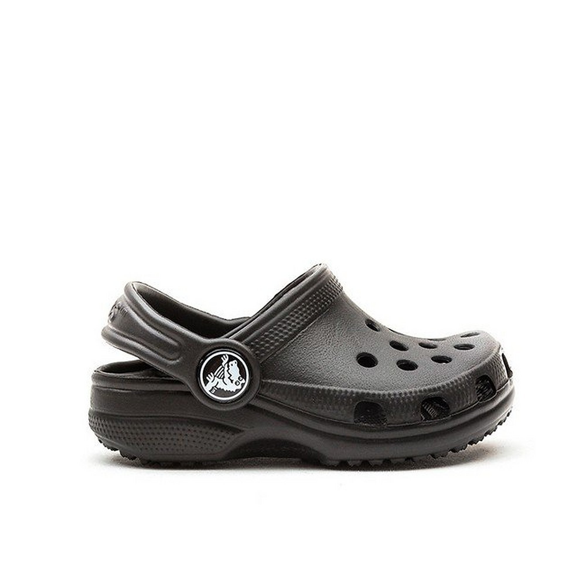 Crocs Juniors Classic Cayman Sandals - Black