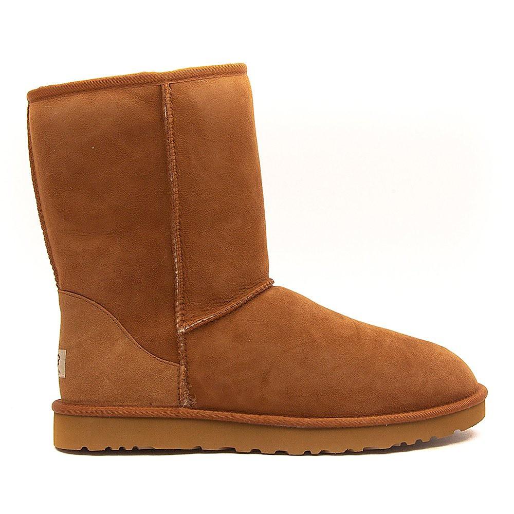 Ugg Men's Classic Short Sheepskin Boots - Chestnut